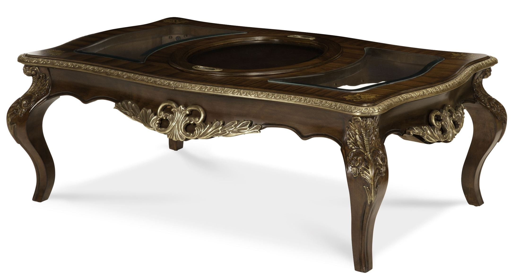Imperial Court Rectangular Cocktail Table From Aico 79201 40 Coleman Furniture