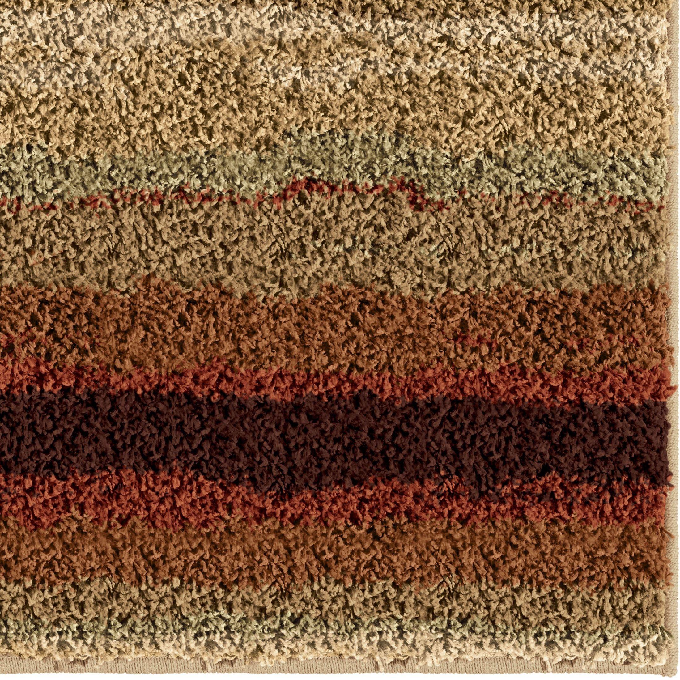 Sundown Red Medium Rug From Orian 3709 5x8 Coleman