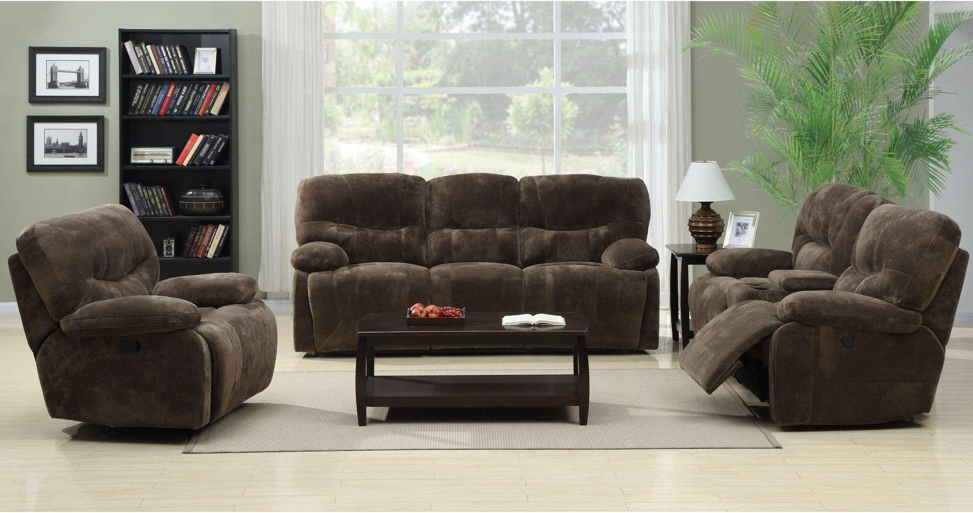 Harrison Mocha Power Reclining Living Room Set U5026A 18 15