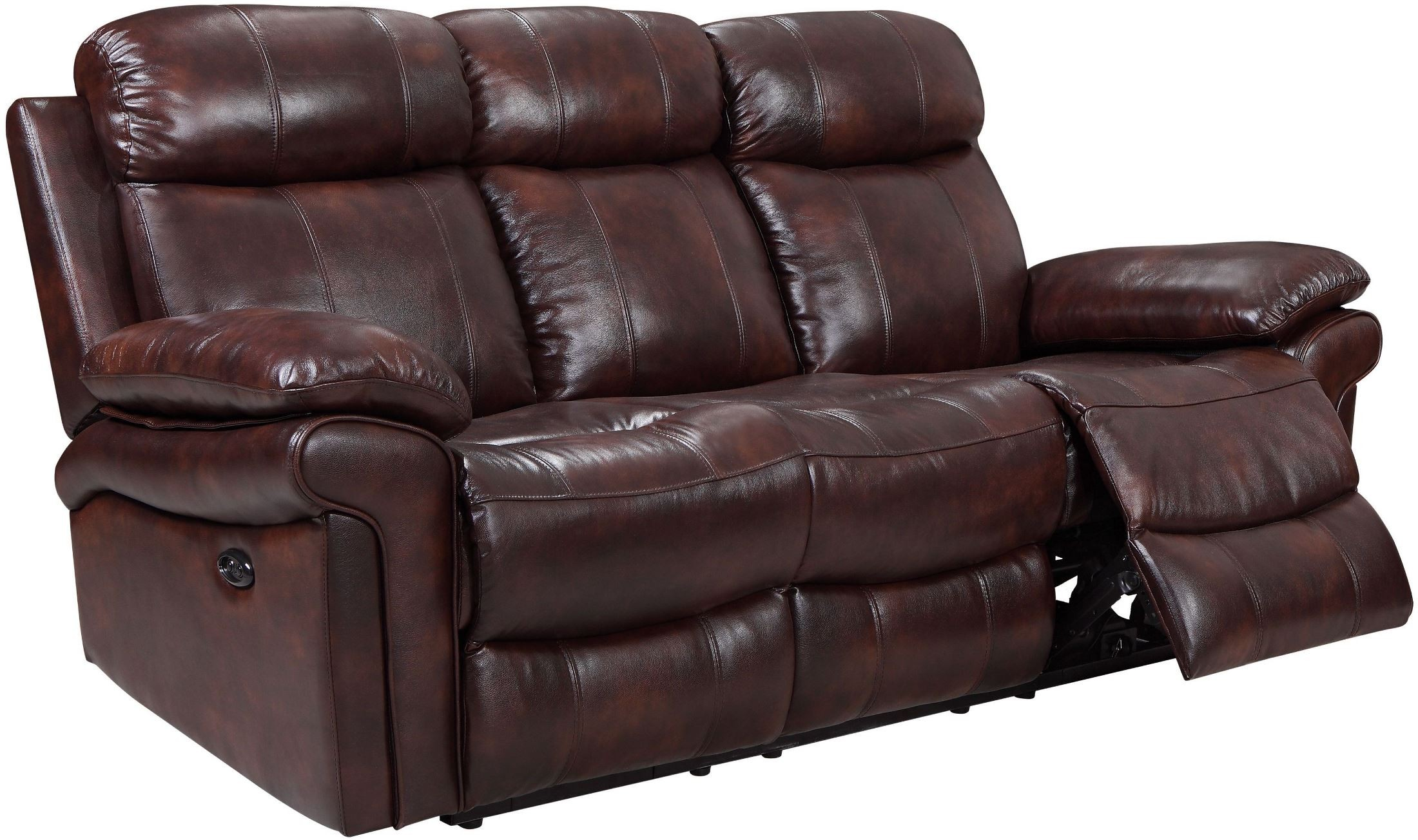 headrest power reclining leather summerlands with recliner sofa product