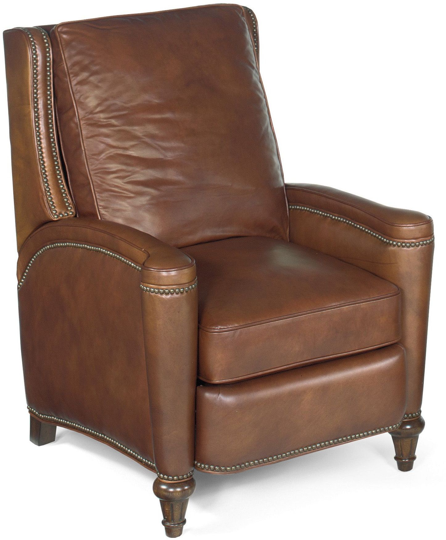 Rylea Light Brown Leather Recliner From Hooker Coleman