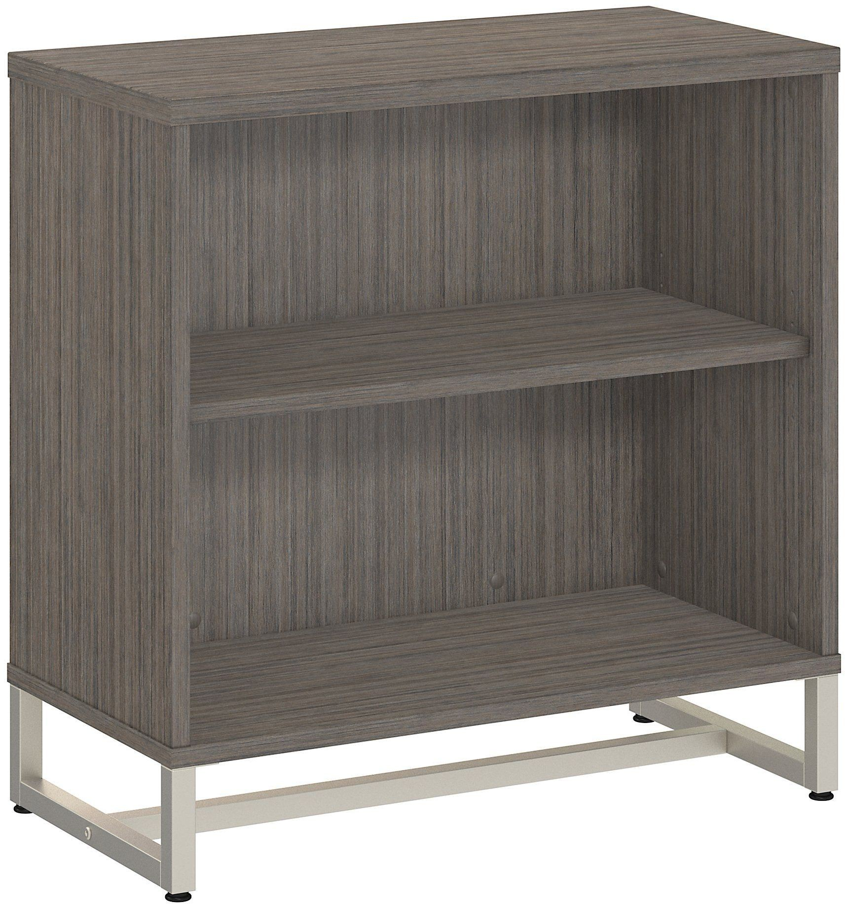 Method cocoa bookcase cabinet from kathy ireland by bush for Cocoa cabinets