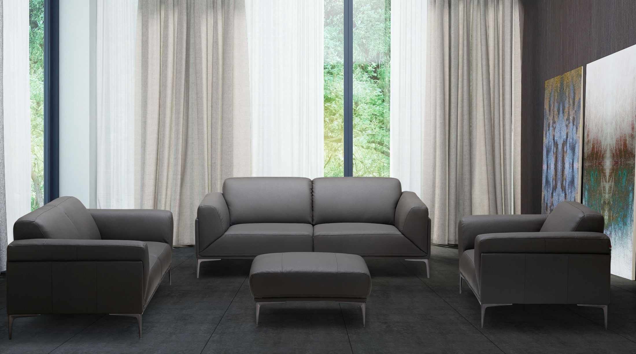 gray leather living room furniture king gray leather living room set from jnm coleman furniture 20699