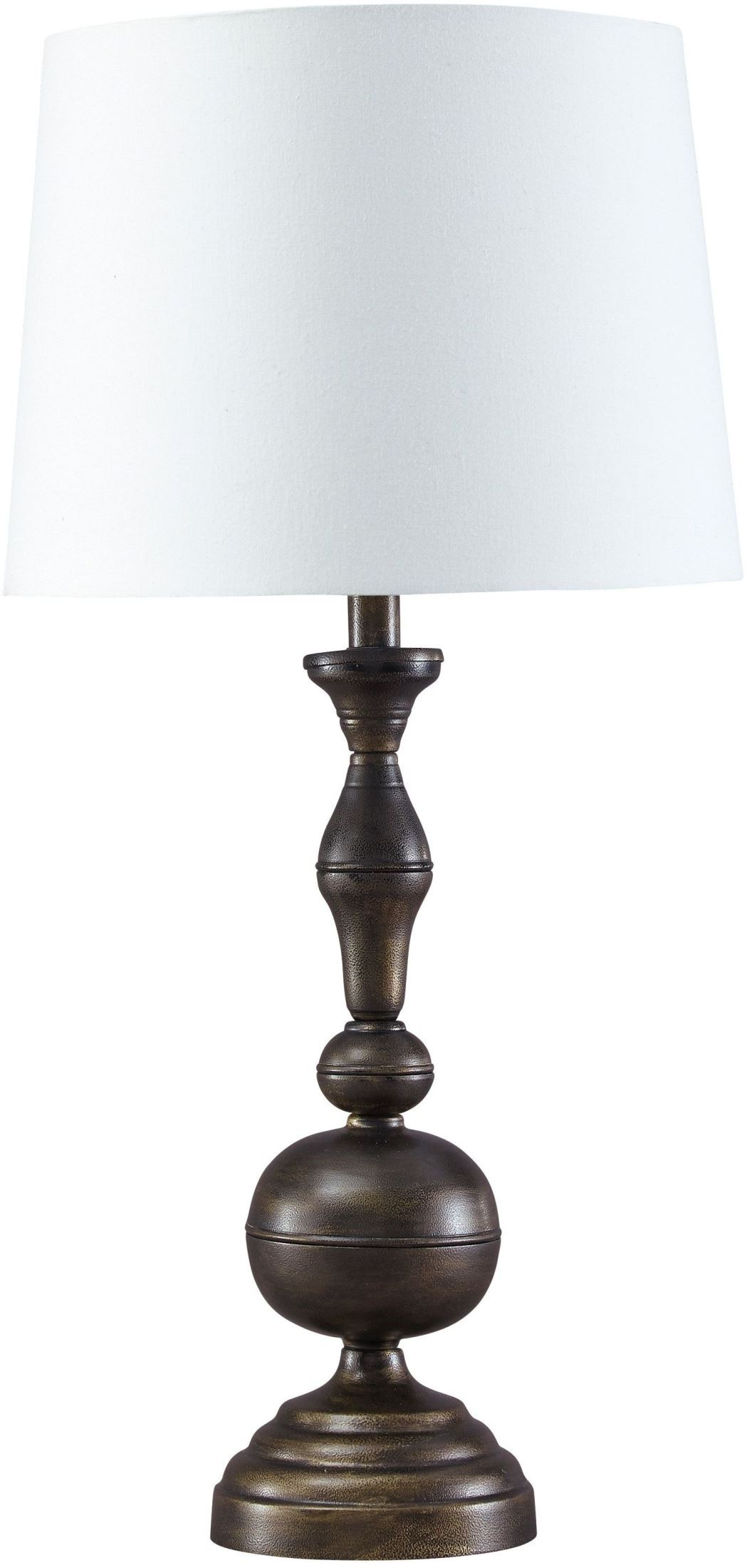 Aadi Antique Brass Metal Table Lamp Set Of 2 From Ashley