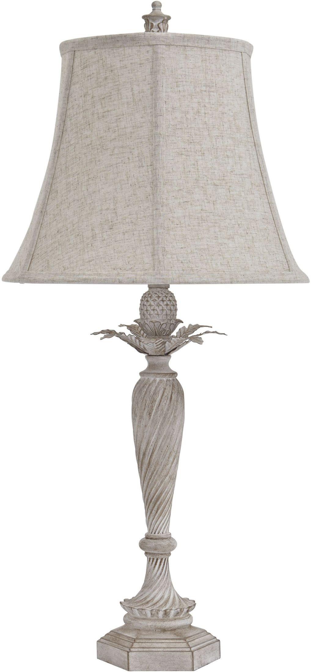 ethelsville antique white poly table lamp set of 2. Black Bedroom Furniture Sets. Home Design Ideas