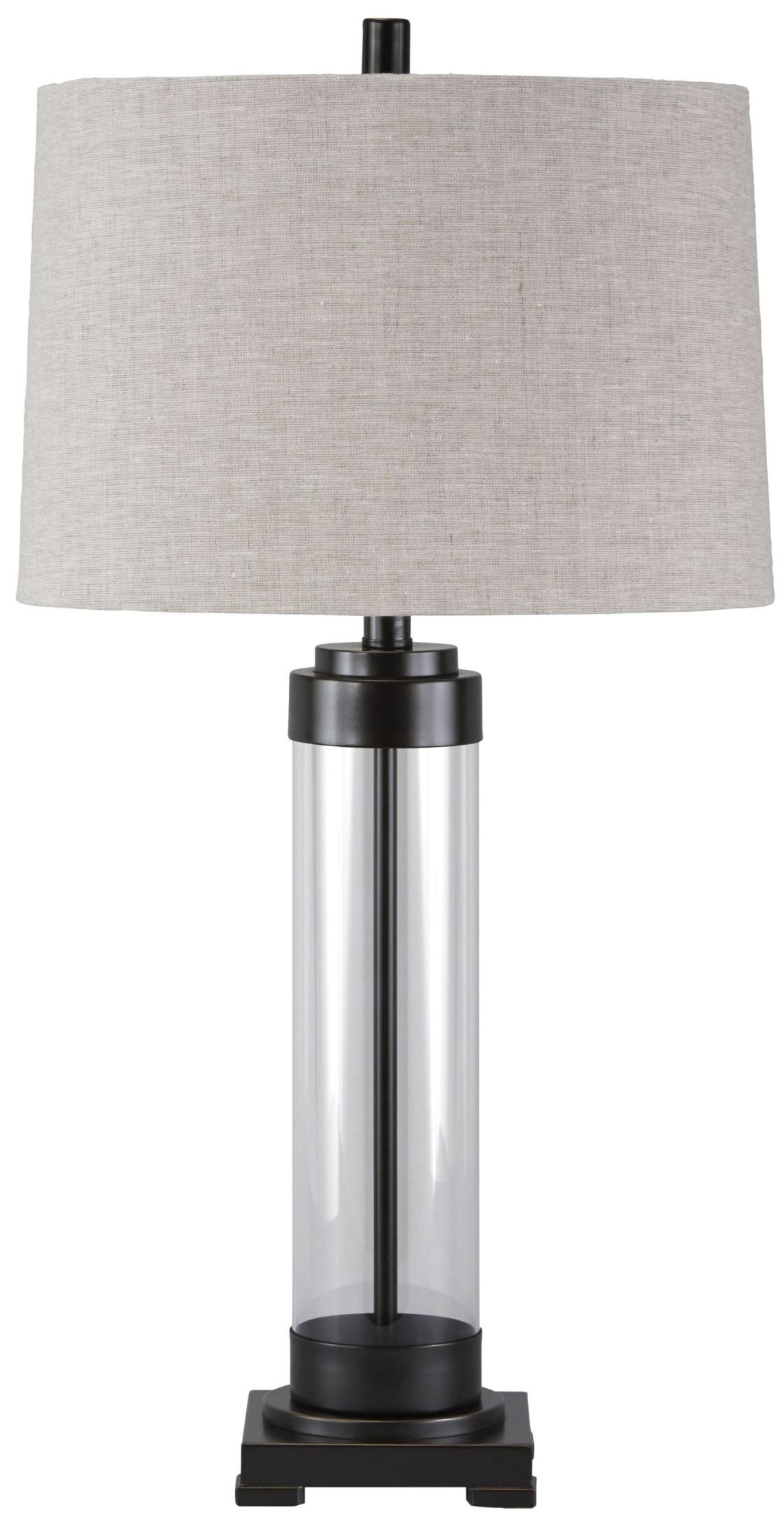 Talar Bronze Glass Table Lamp From Ashley L430164
