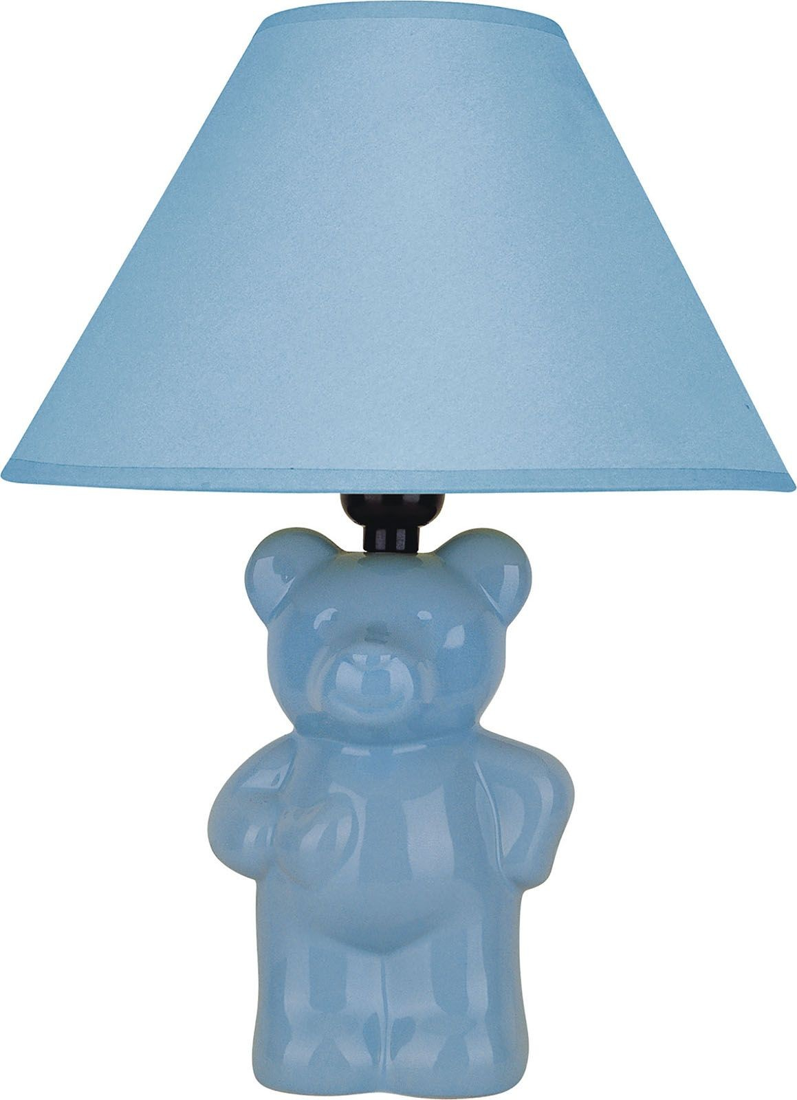 Gumi blue bear table lamp from furniture of america coleman gumi blue bear table lamp geotapseo Choice Image