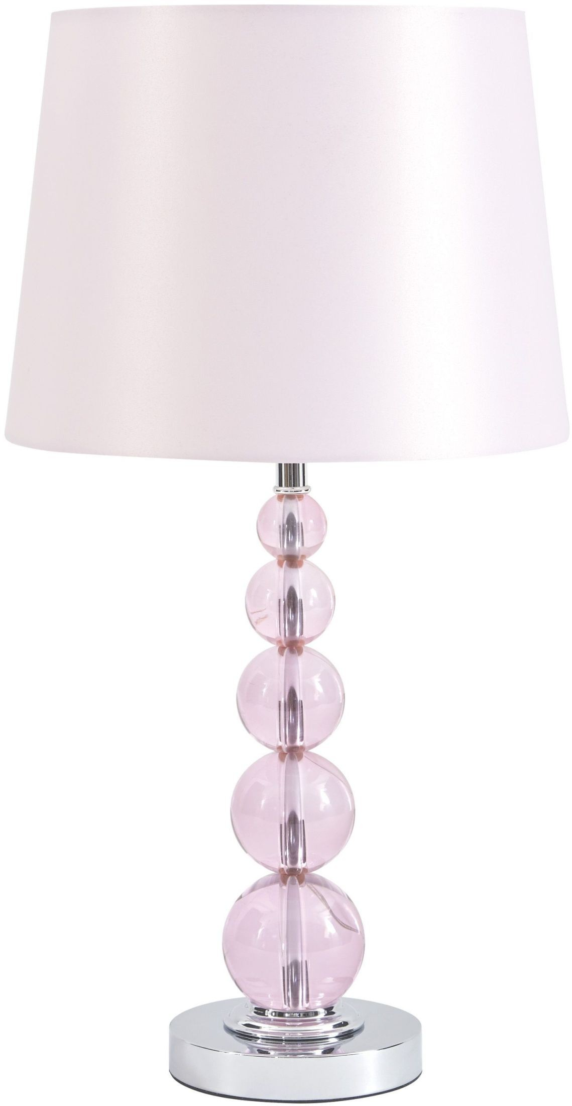 Letty Pink Crystal Table Lamp From Ashley Coleman Furniture