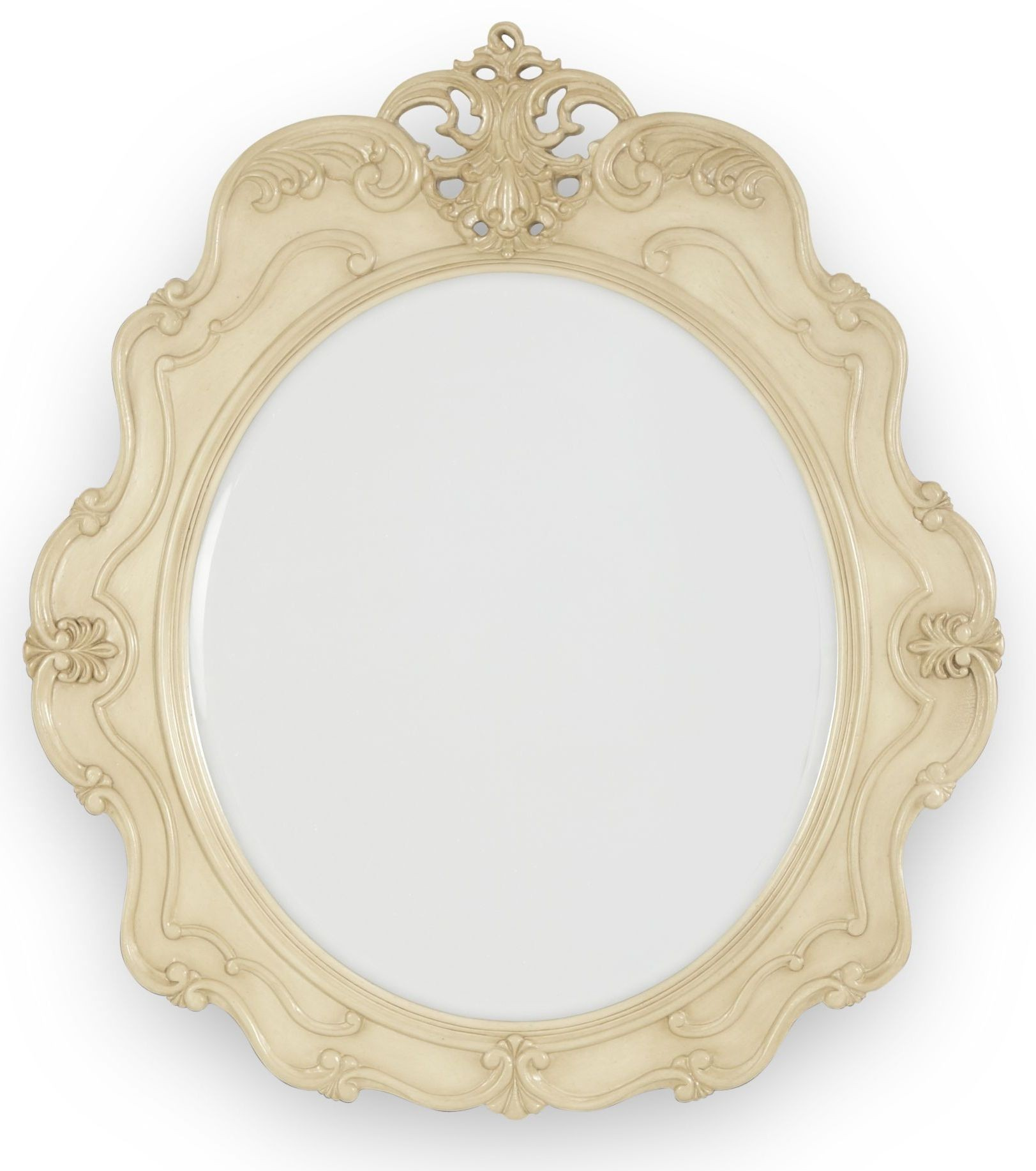 Lavelle Blanc Console Table Mirror From Aico 54260n 04