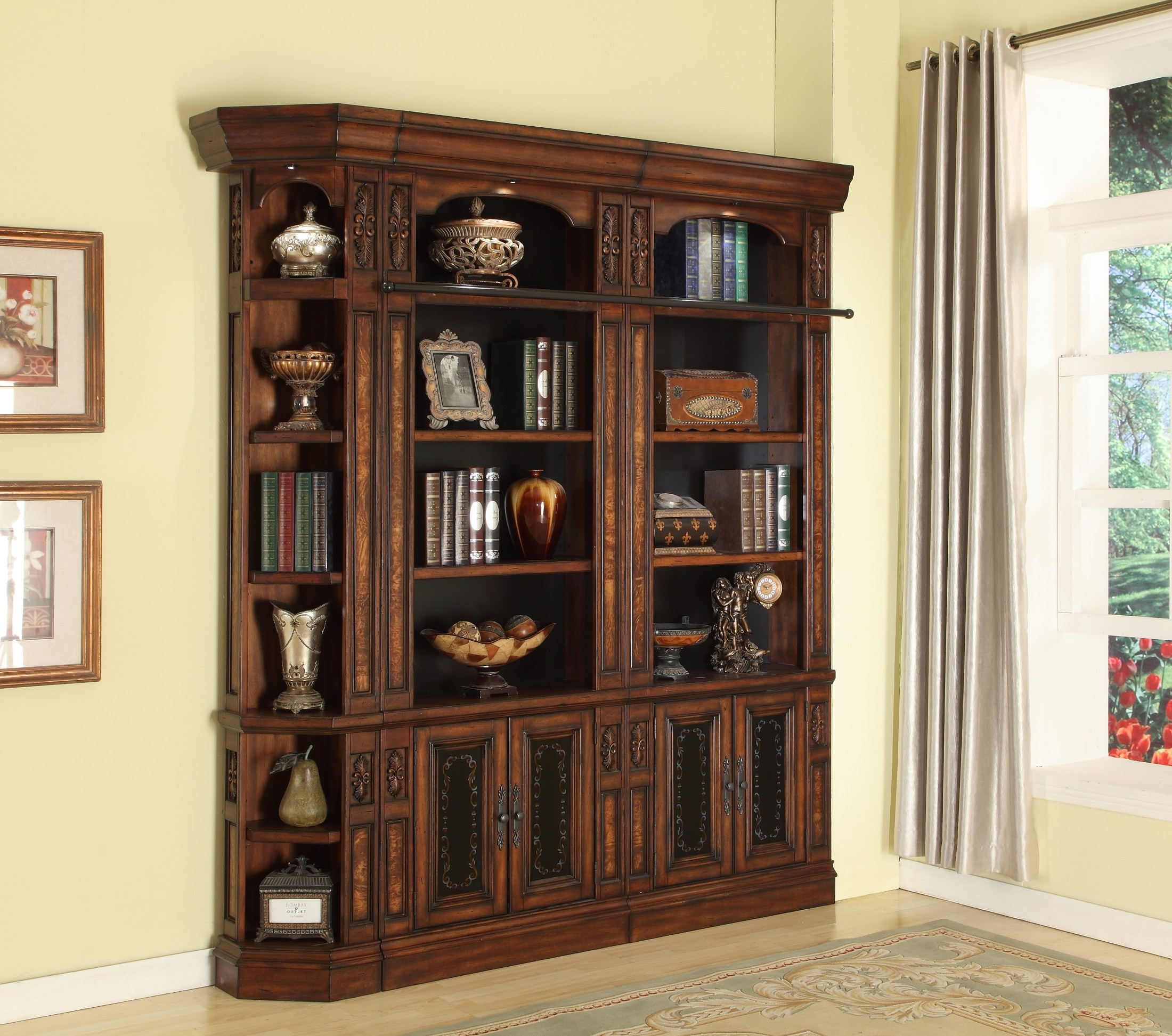 Leonardo 32 Quot Bookcase Wall Unit From Parker House Leo 430 2 450 2 Coleman Furniture