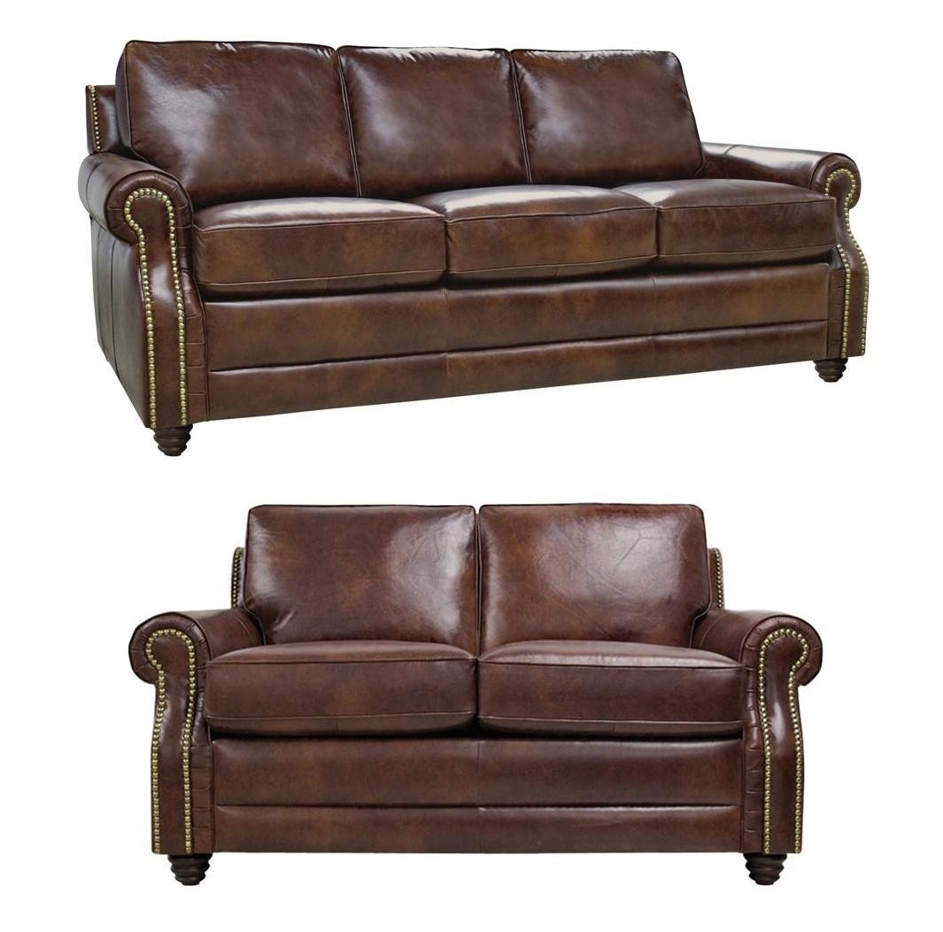 Levi Italian Leather Loveseat From Luke Leather Coleman Furniture
