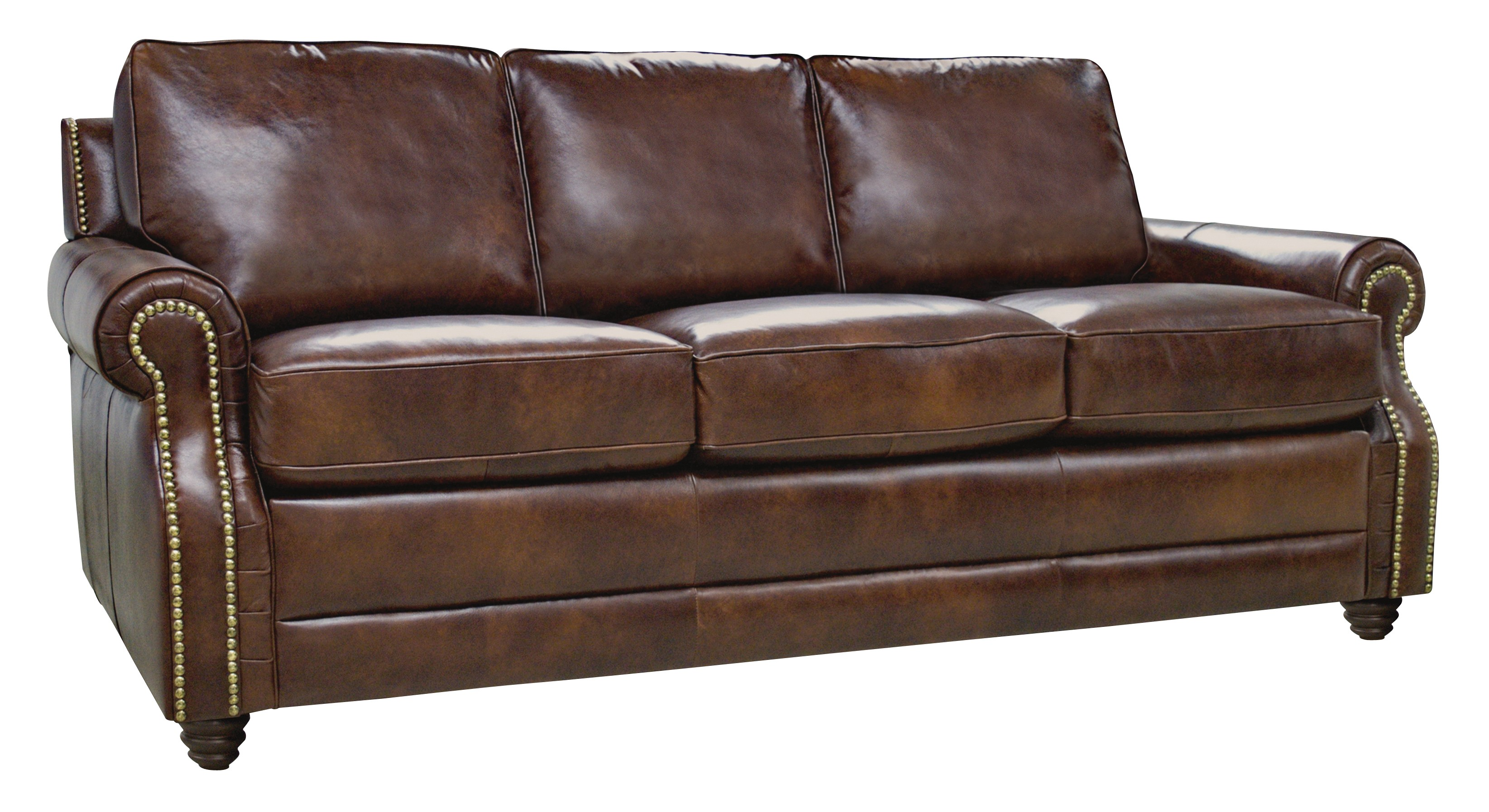 Levi italian leather sofa from luke leather coleman for Italian leather sofa