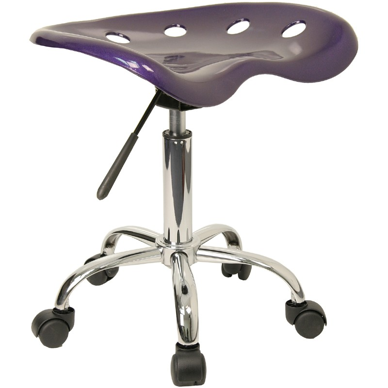 Vibrant Violet Tractor Seat Stool From Renegade Coleman