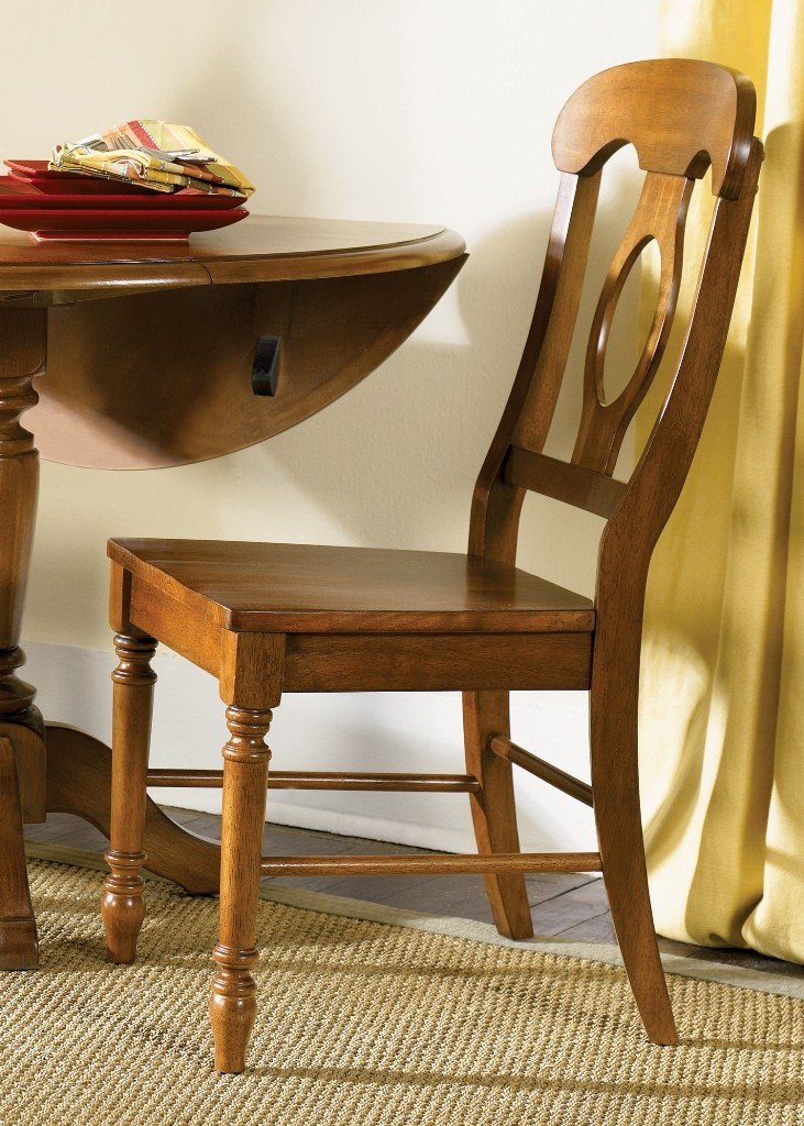 Low Country Bronze Napoleon Back Side Chair Set Of 2 From
