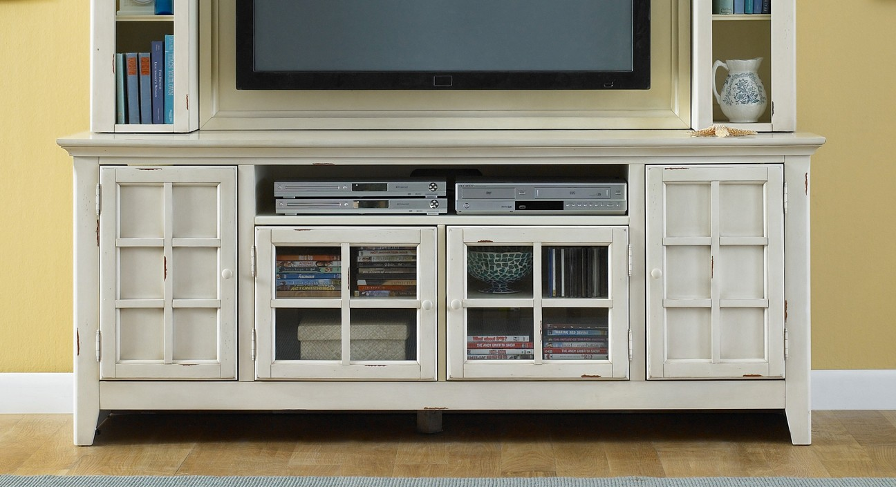 New Generation White Tv Stand From Liberty 840 Tv00