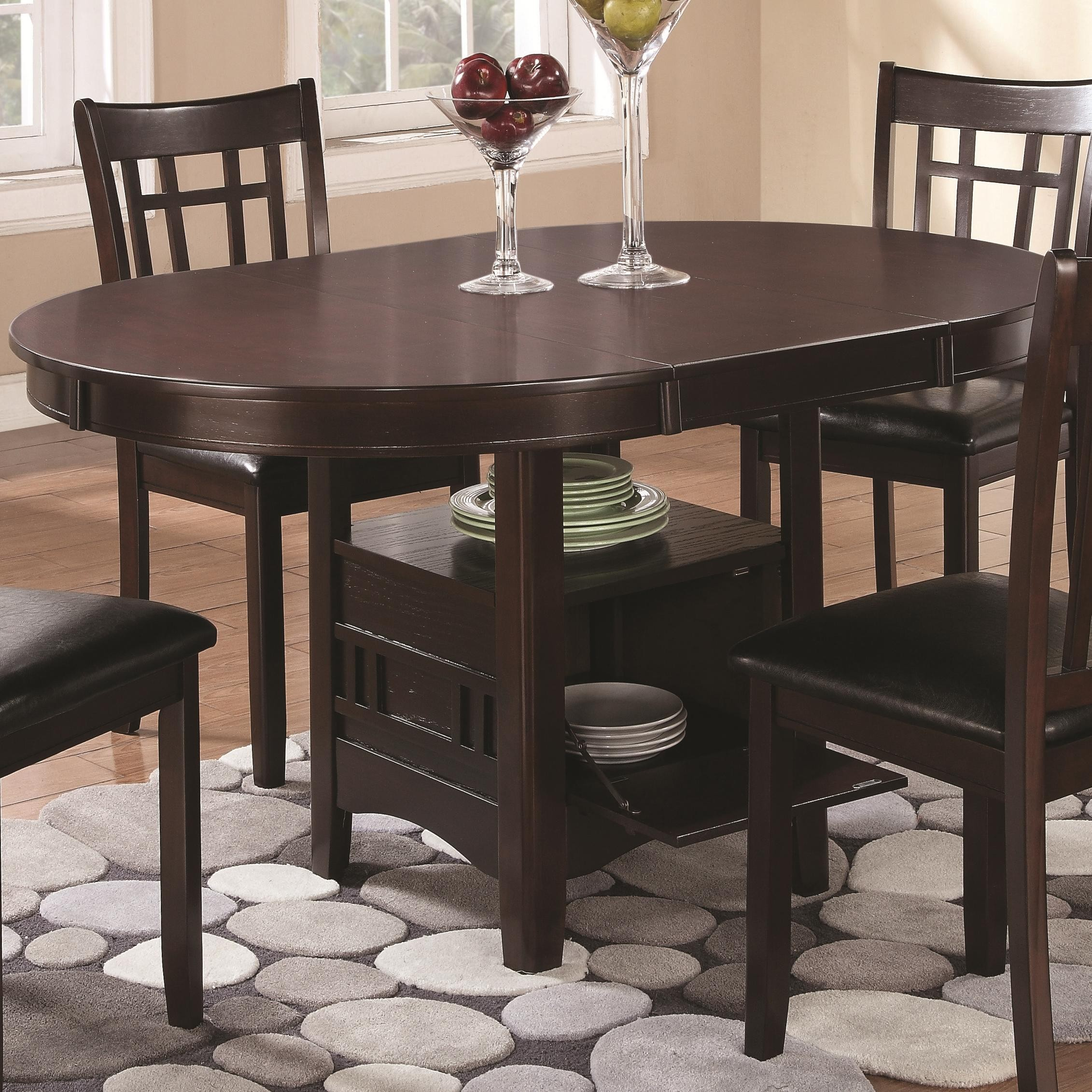 Linwood Extendable Dining Table from Coaster 102671