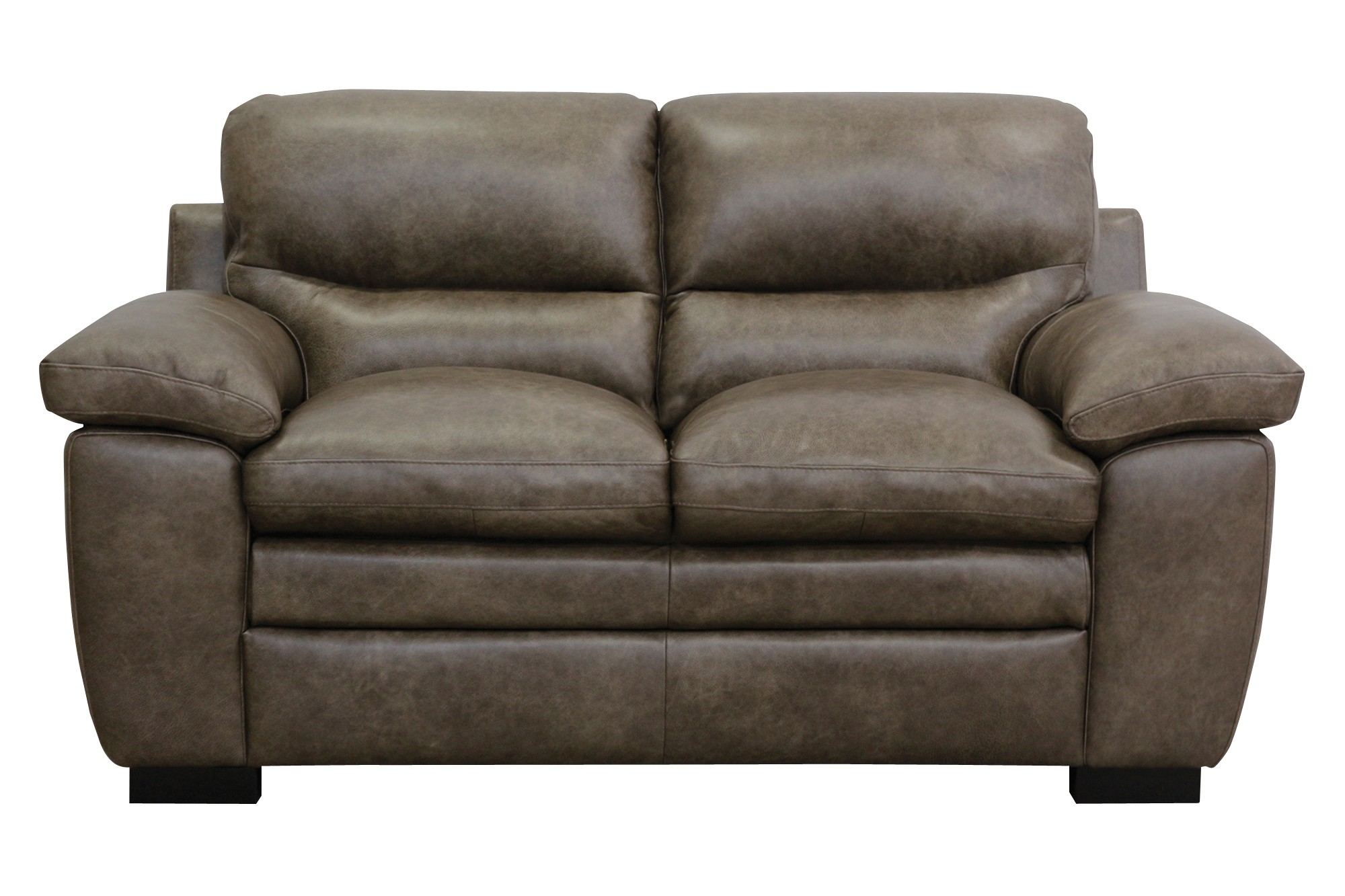 Tatum Italian Leather Loveseat From Luke Leather Coleman Furniture