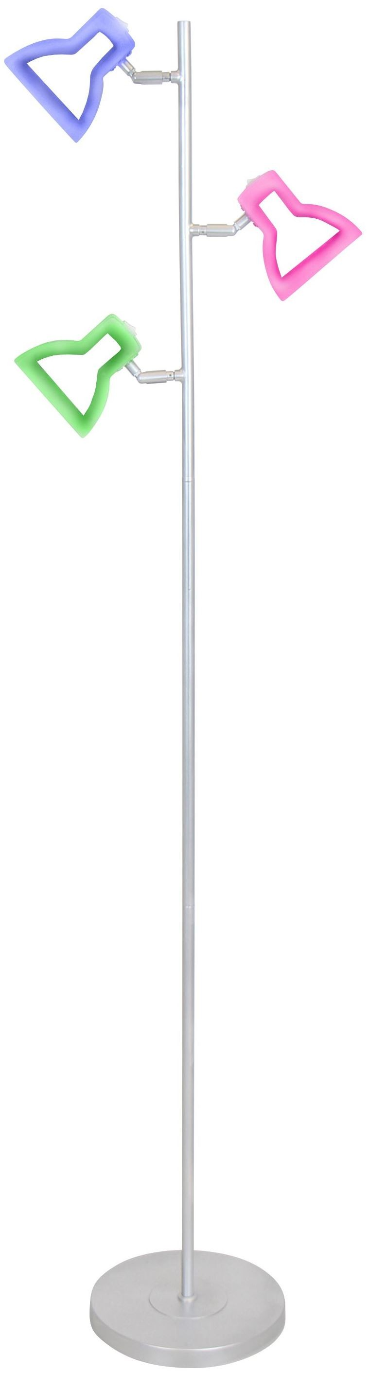 2d led tree floor lamp from lumisource ls led 2d flr for Led plant floor lamp