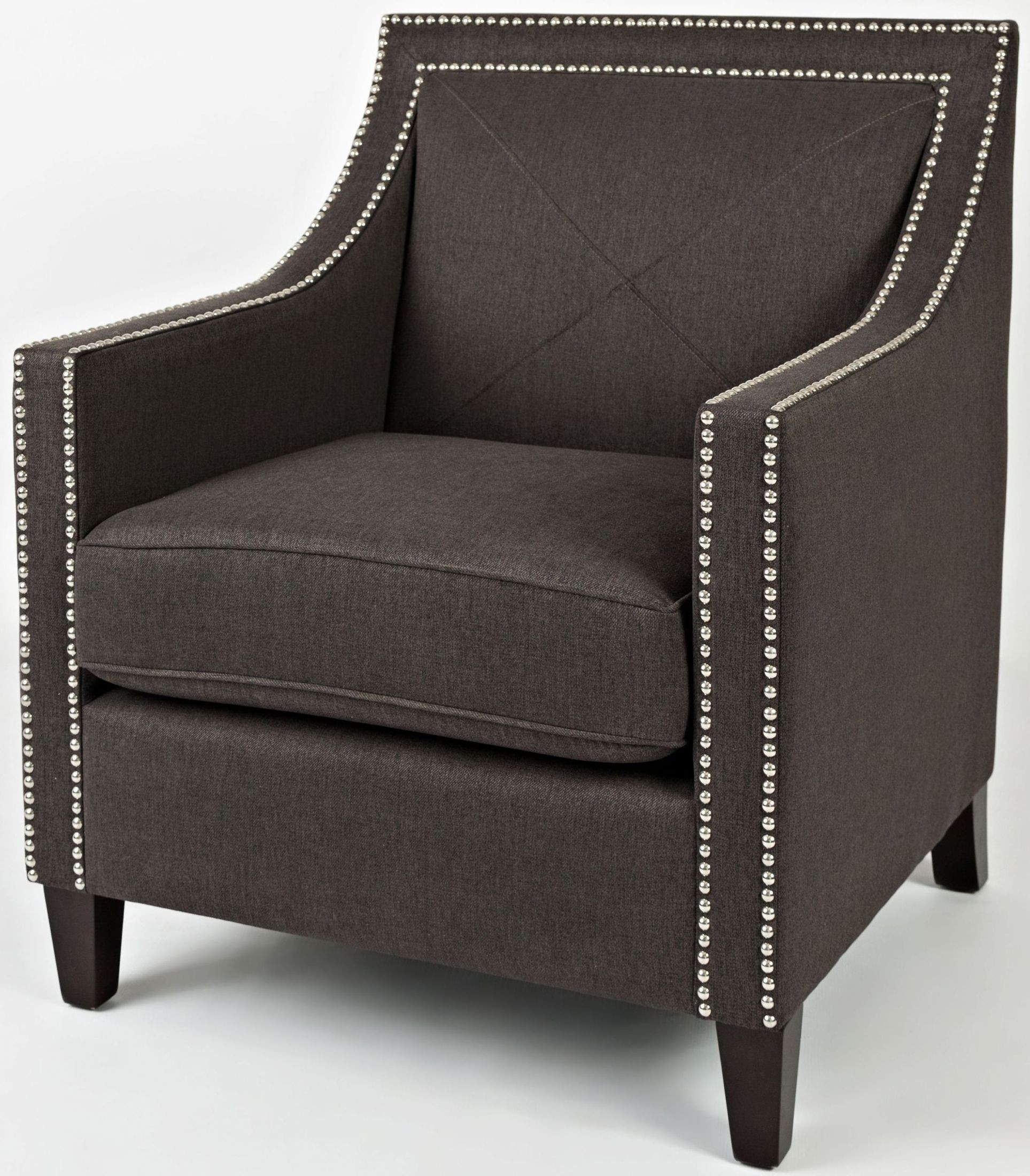 Great Easy Living Luca Charcoal Accent Chair