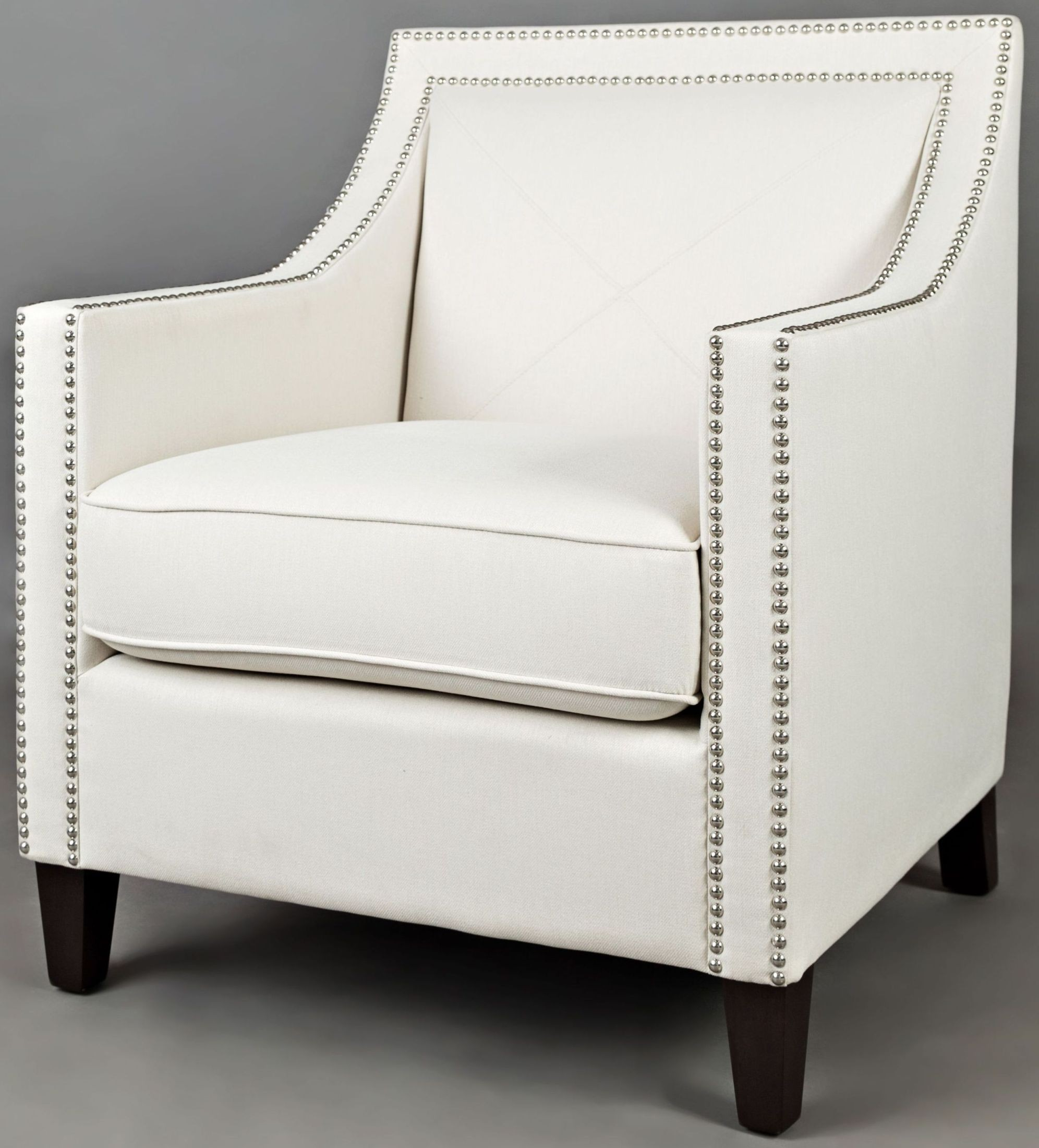 Easy living luca ivory accent chair from jofran coleman for Easy living