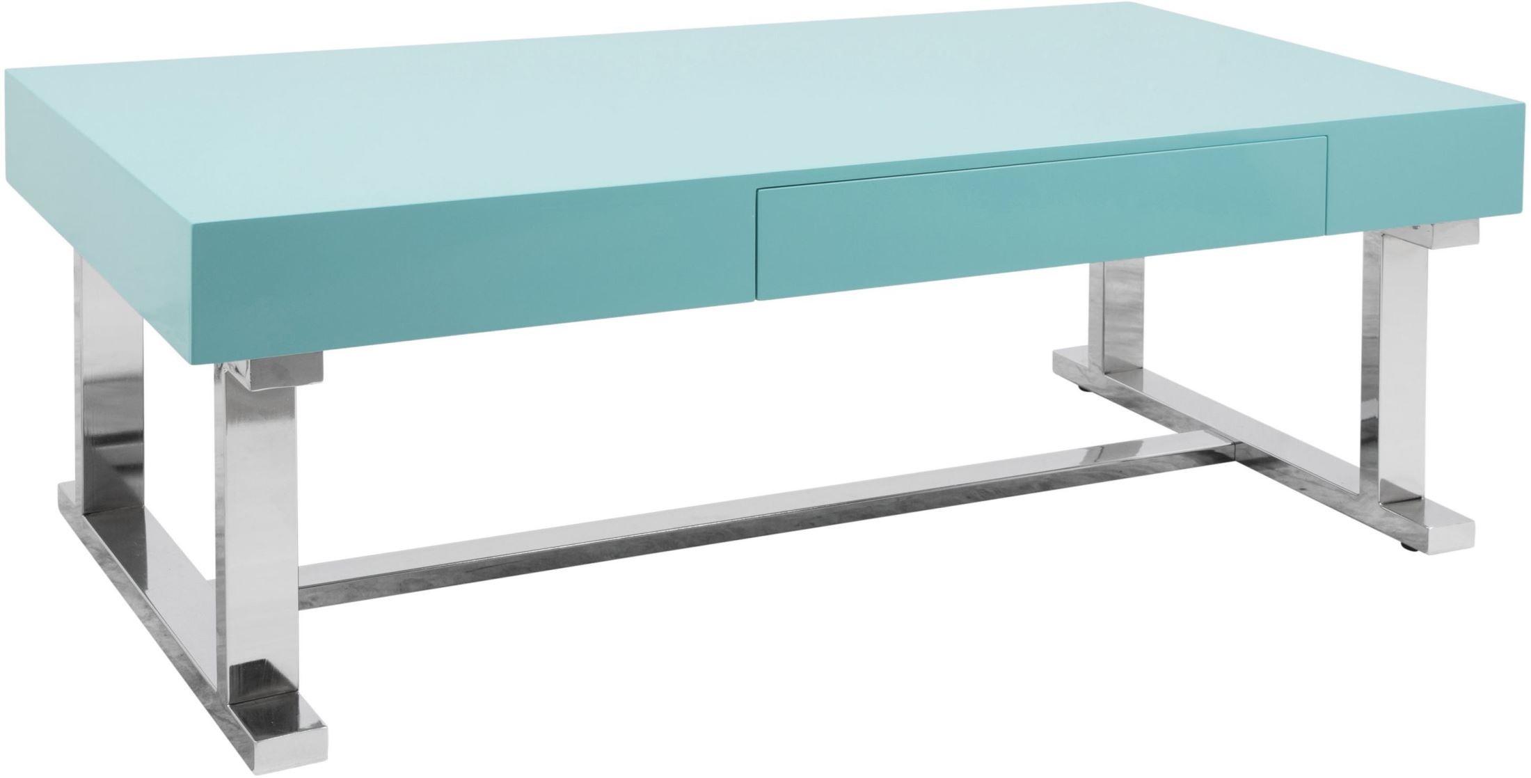 Luster Light Blue Coffee Table From Lumisource Coleman Furniture