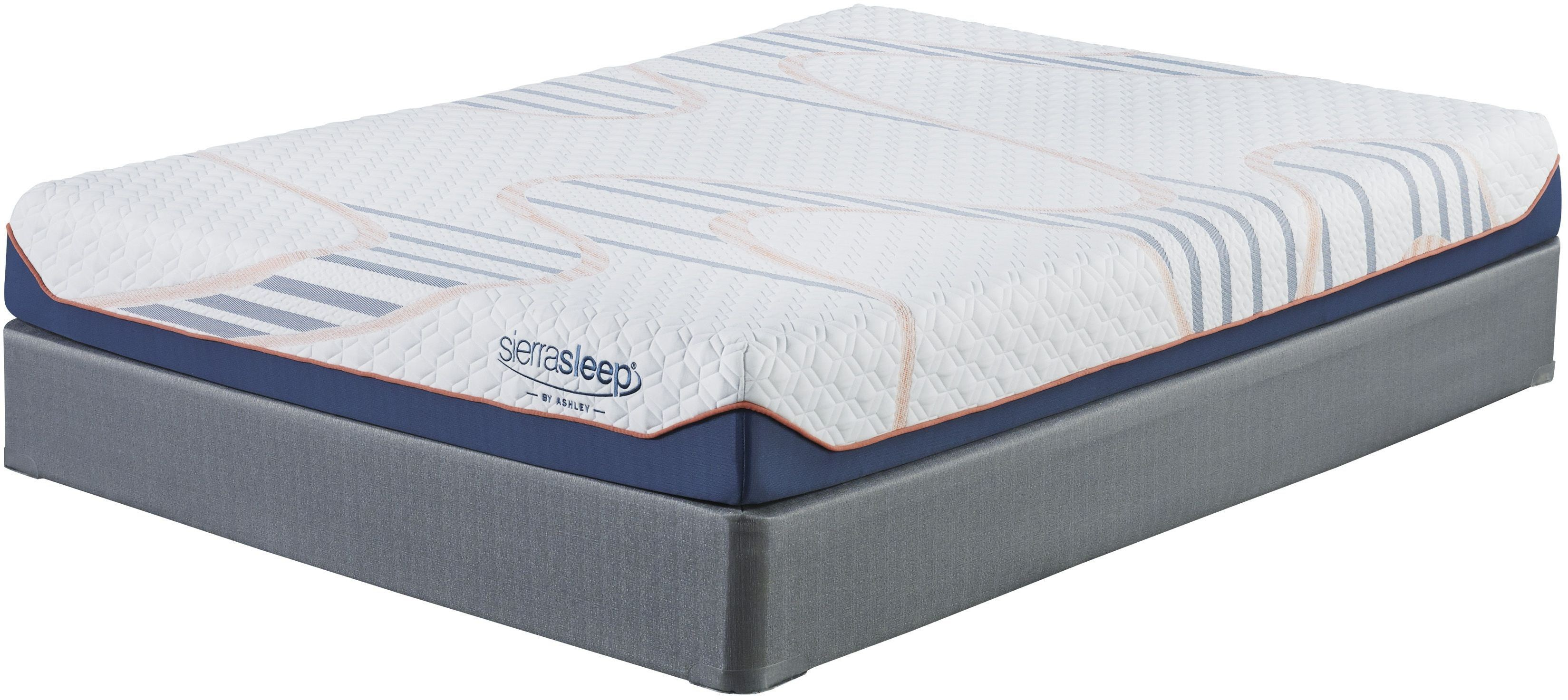 8 Inch Mygel White Cal King Mattress From Ashley Coleman Furniture