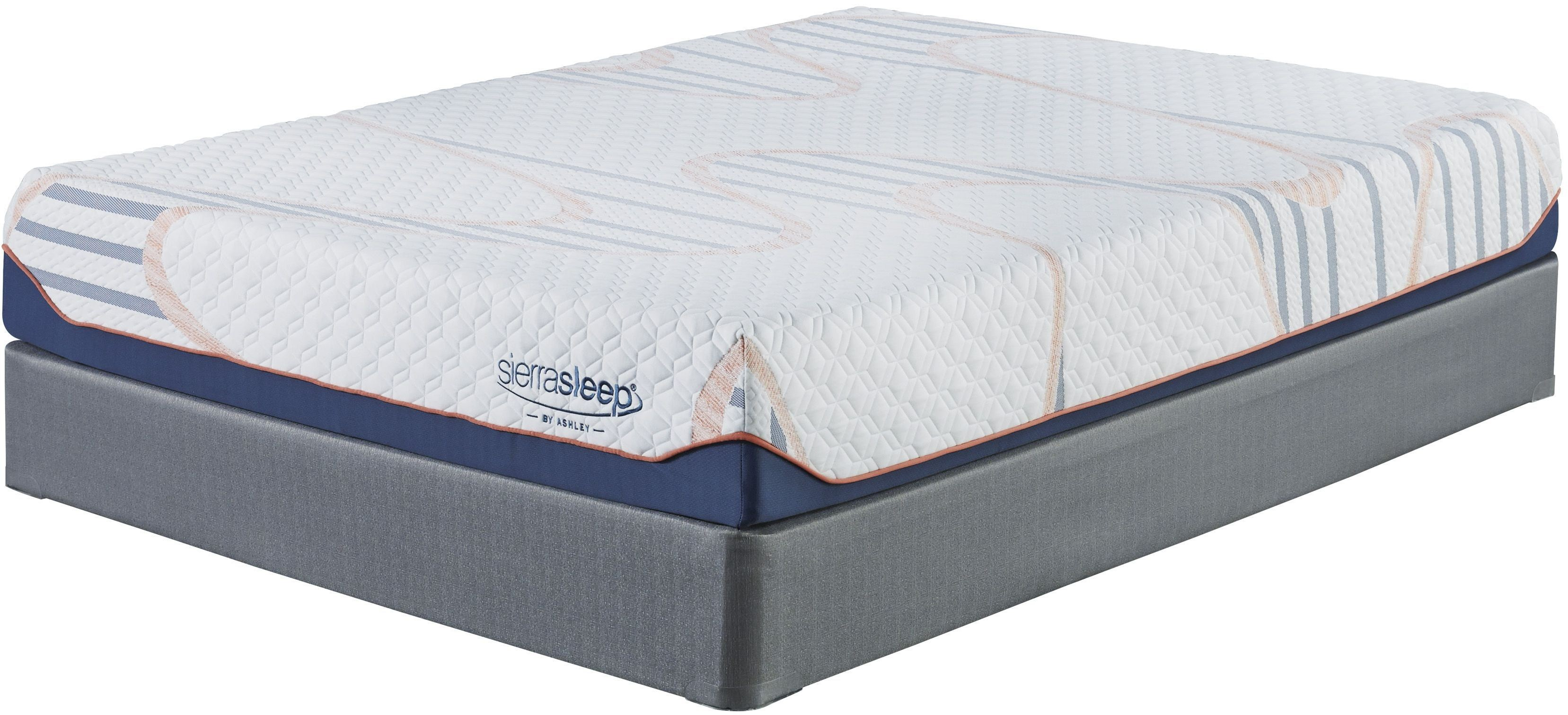 10 Inch Mygel White Twin Mattress From Ashley Coleman