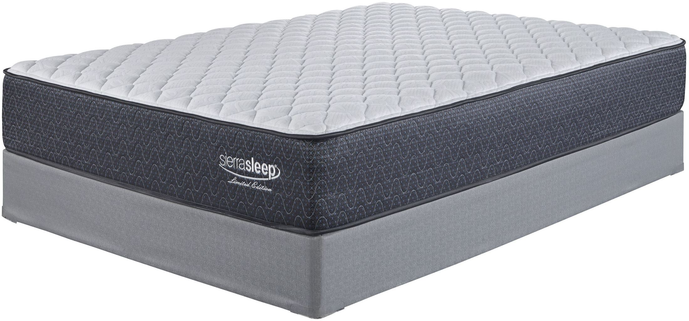 White Queen Firm Mattress From Ashley Coleman Furniture
