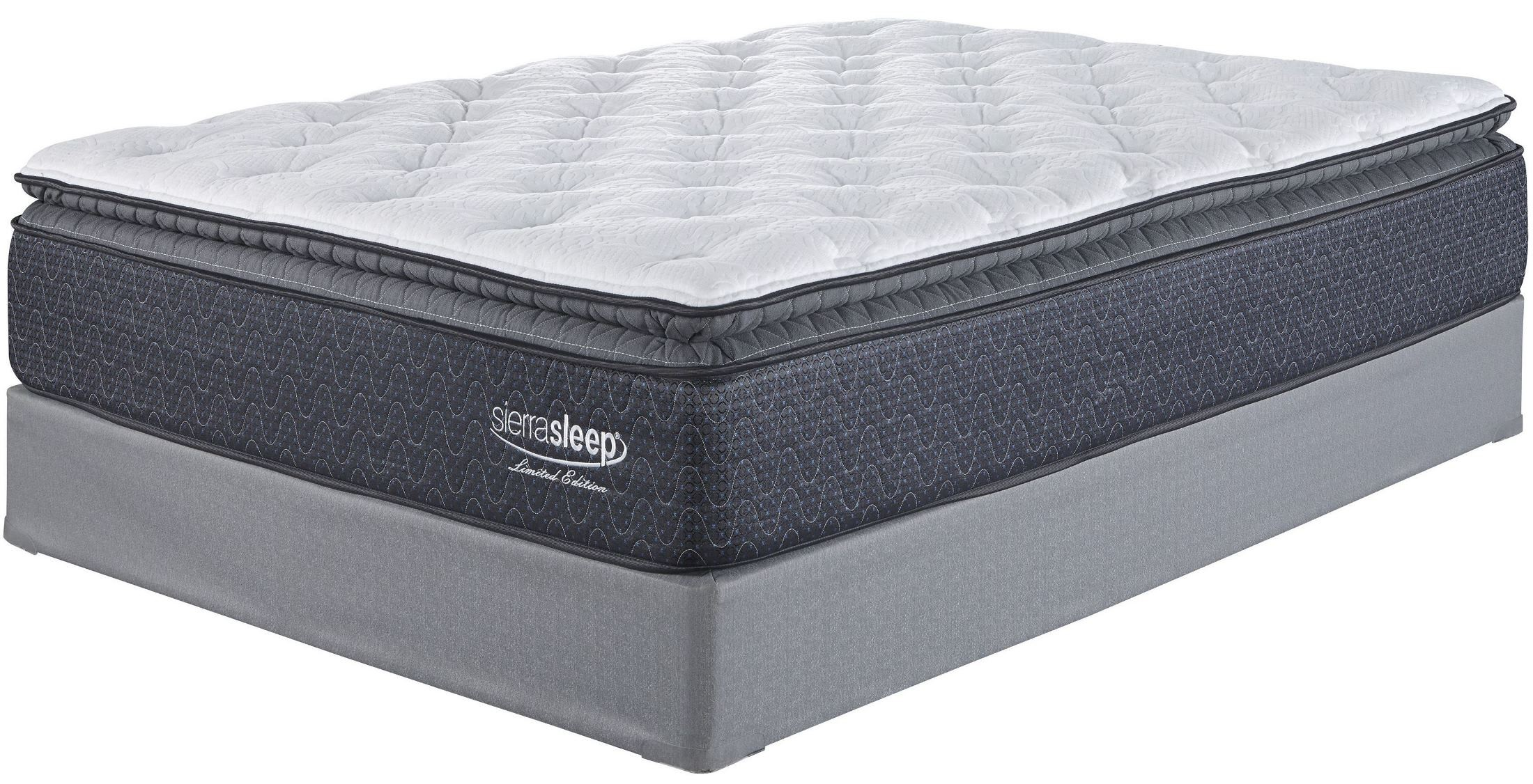 White Cal King Mattress From Ashley Coleman Furniture