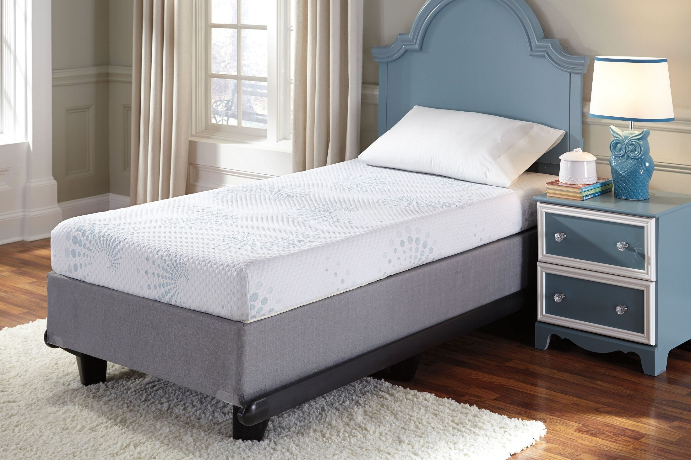 Kids Bedding Twin Memory Foam Mattress From Ashley Coleman Furniture