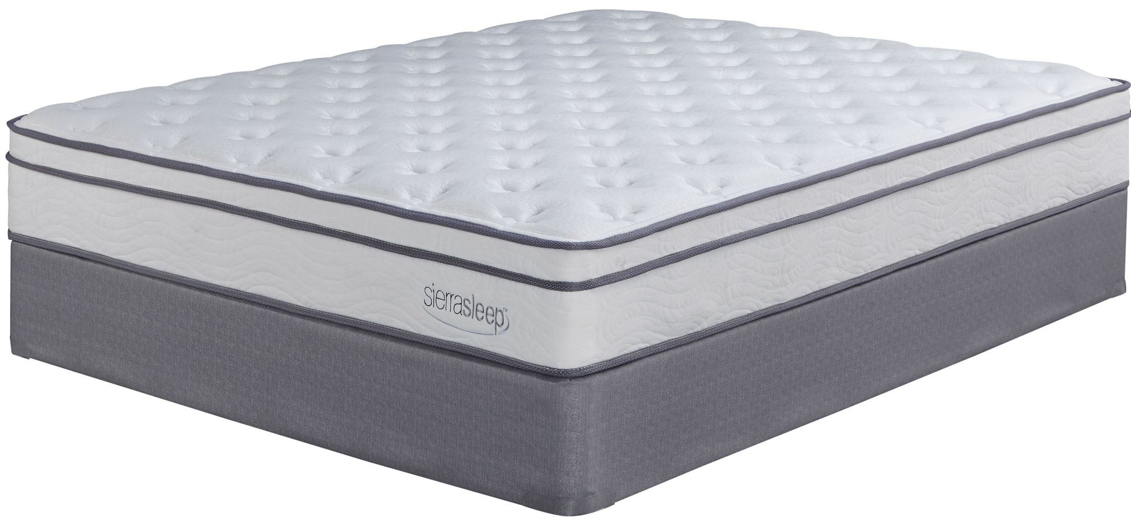 Longs Peak Ltd White Twin Mattress From Ashley M90711 Coleman Furniture