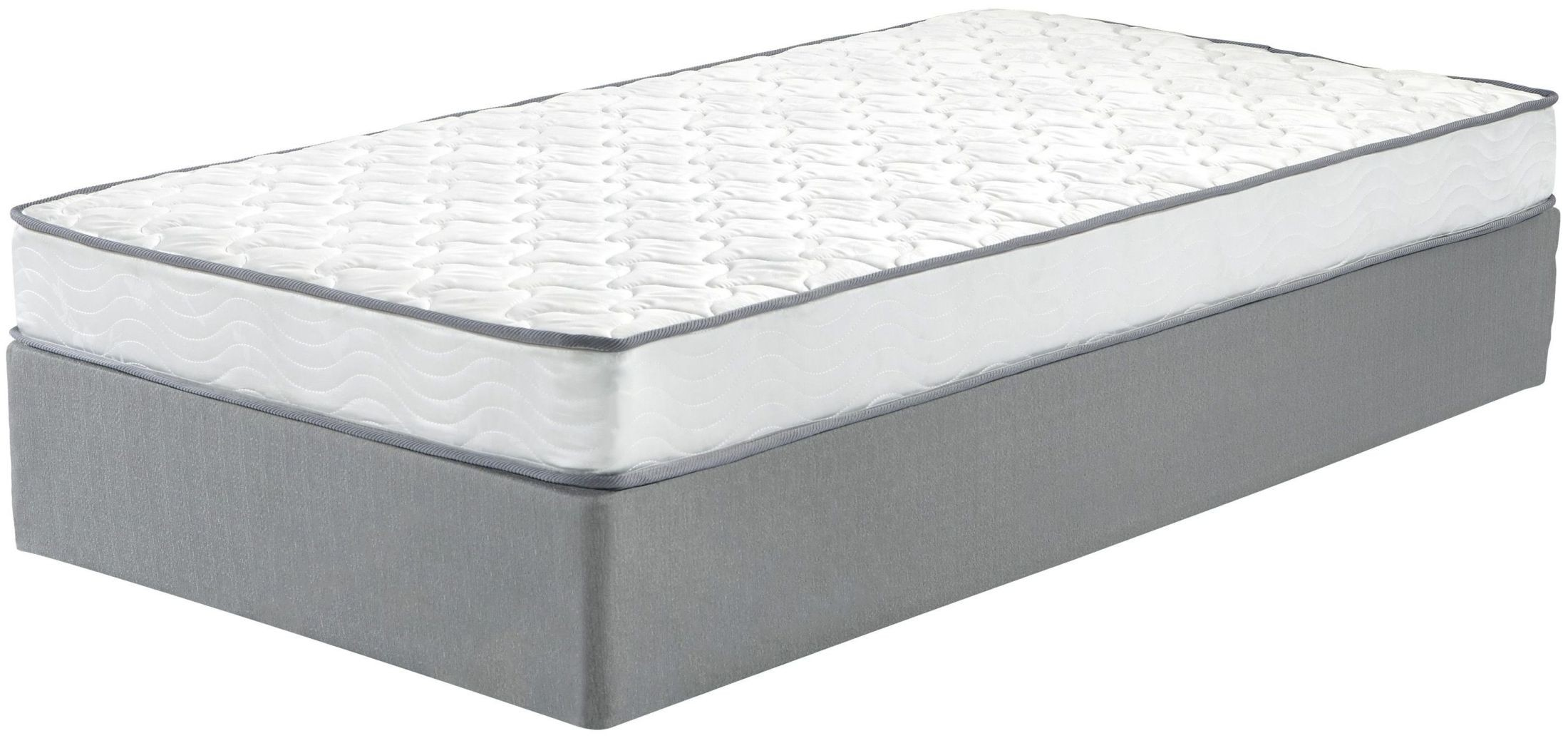 Tori Ltd White Twin Mattress With Foundation From Ashley Coleman Furniture