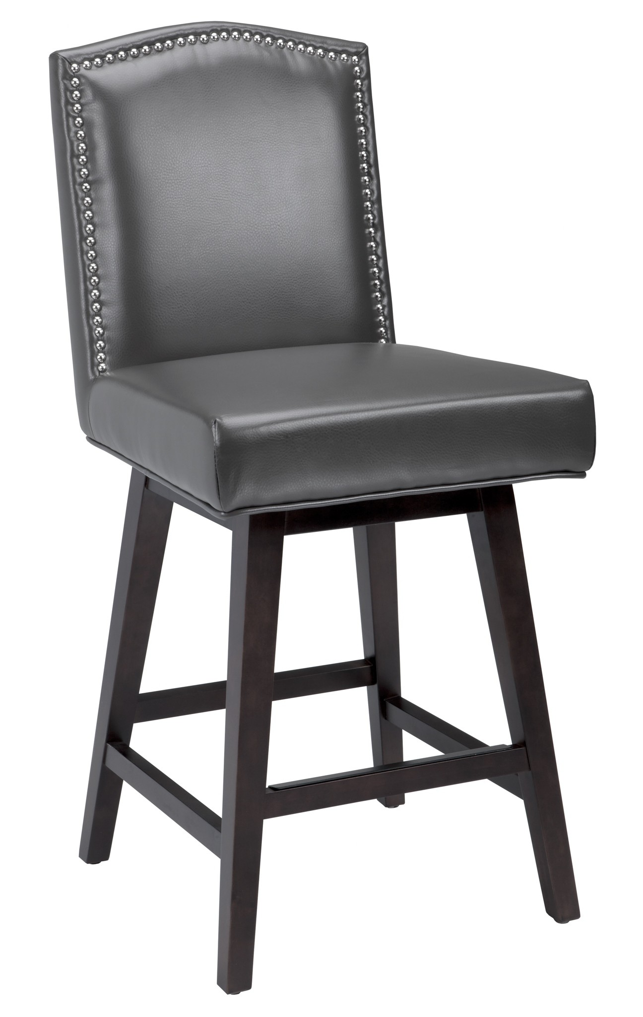 Maison Grey Swivel Counter Stool from Sunpan