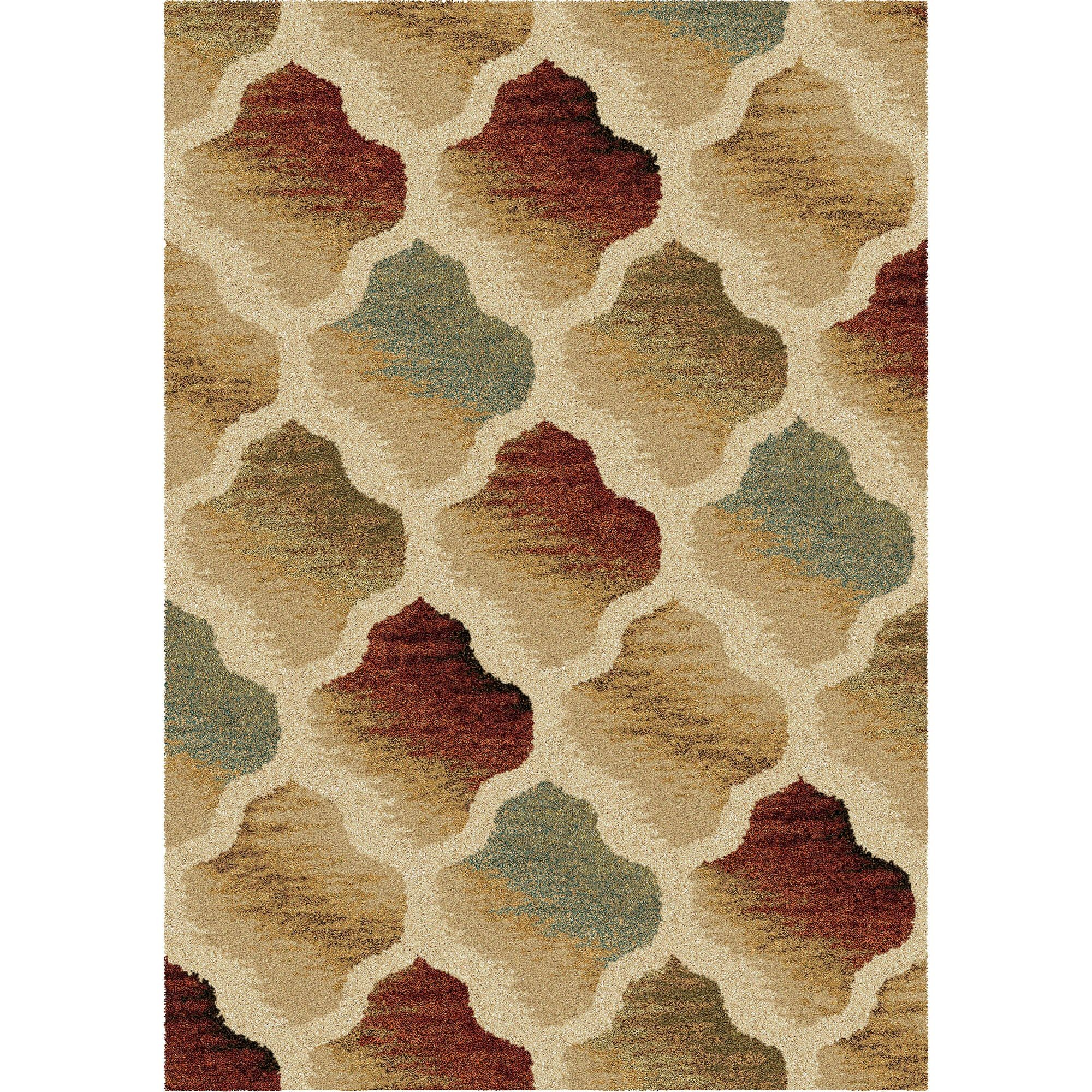 Desert Mirage Multi Large Rug From Orian 3602 8x11