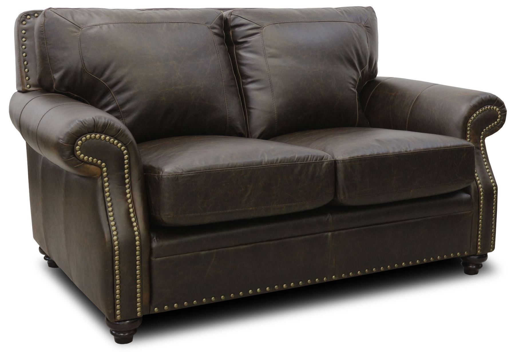 Mason Italian Leather Loveseat From Luke Leather Coleman Furniture