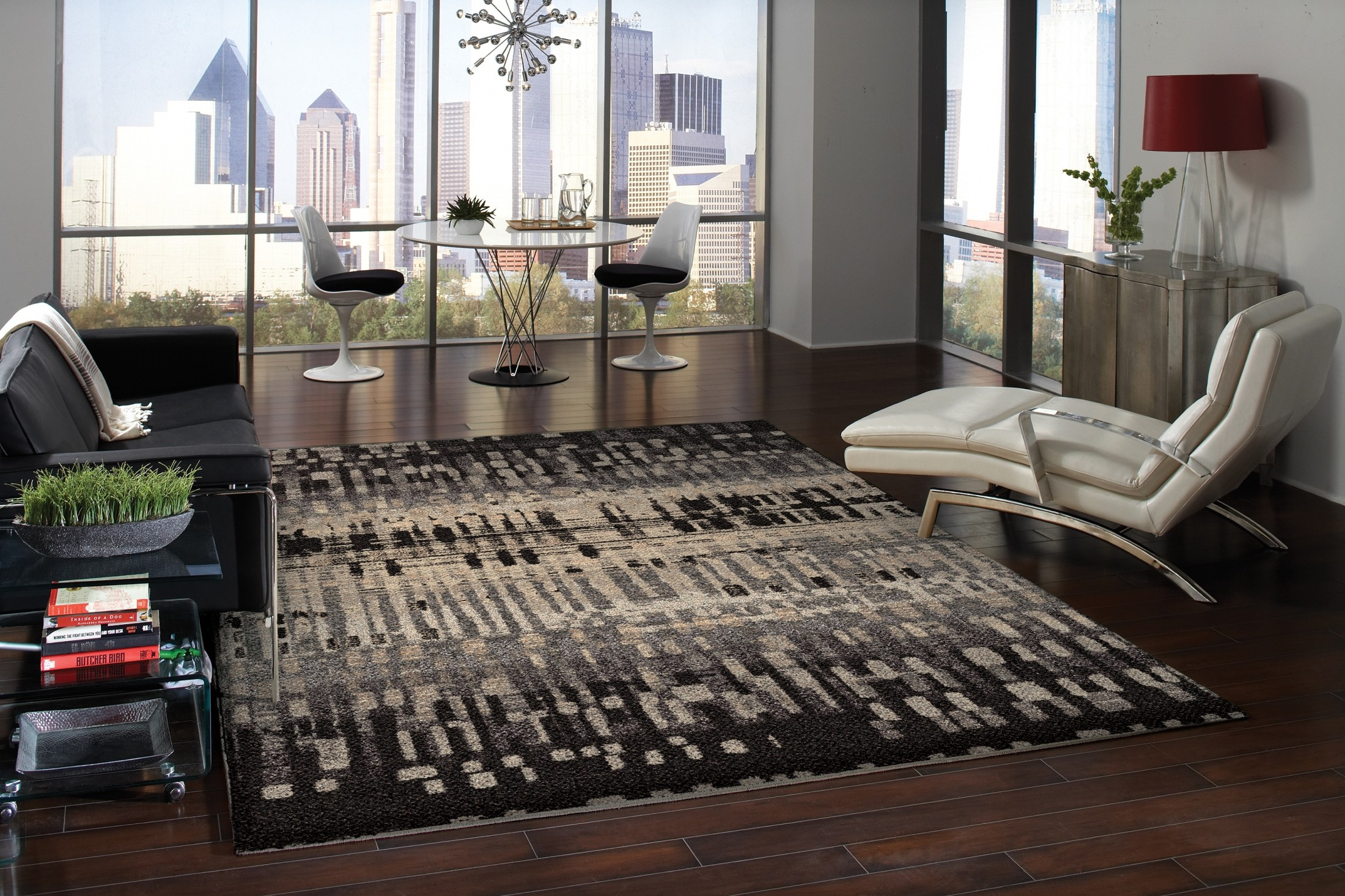 Metropolitan City Drizzle Slate Large 130 Rug From Orian 1673 8x11 Coleman Furniture
