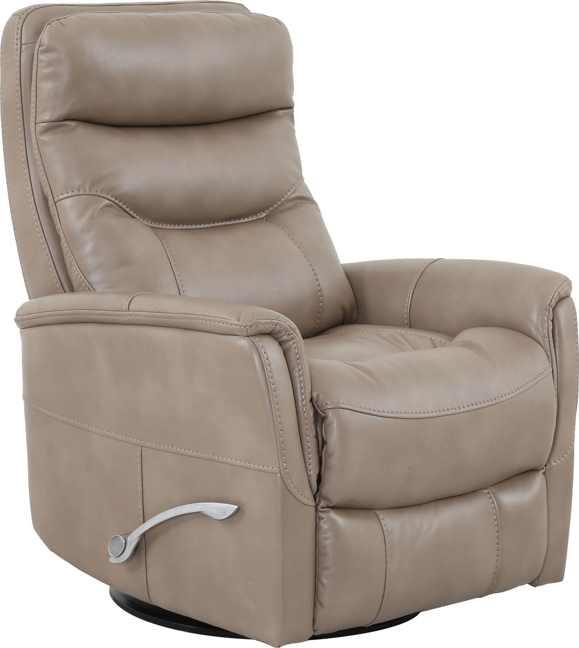 Gemini Linen Swivel Glider Recliner From Parker Living