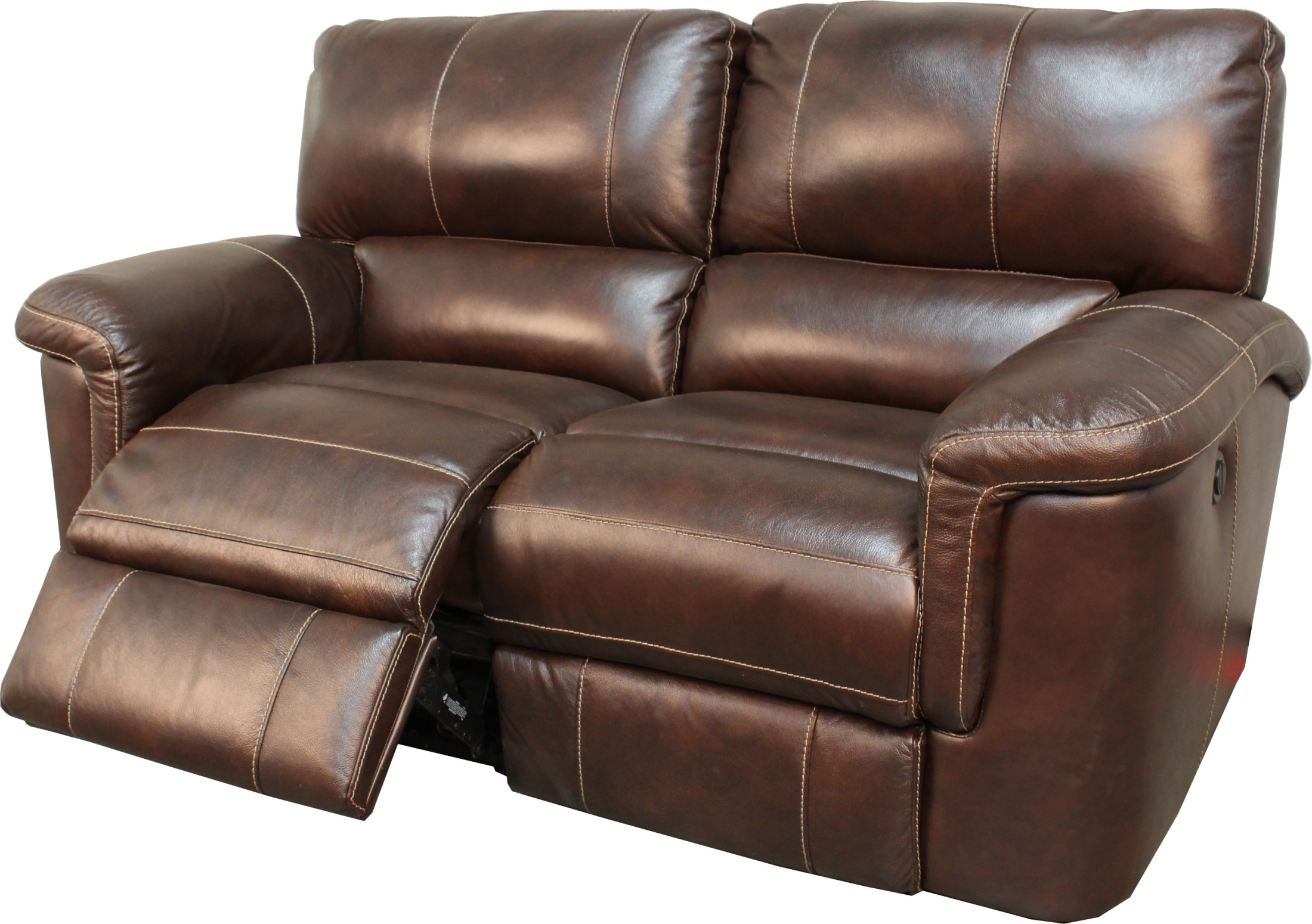 Hitchcock Cigar Dual Power Reclining Loveseat From Parker