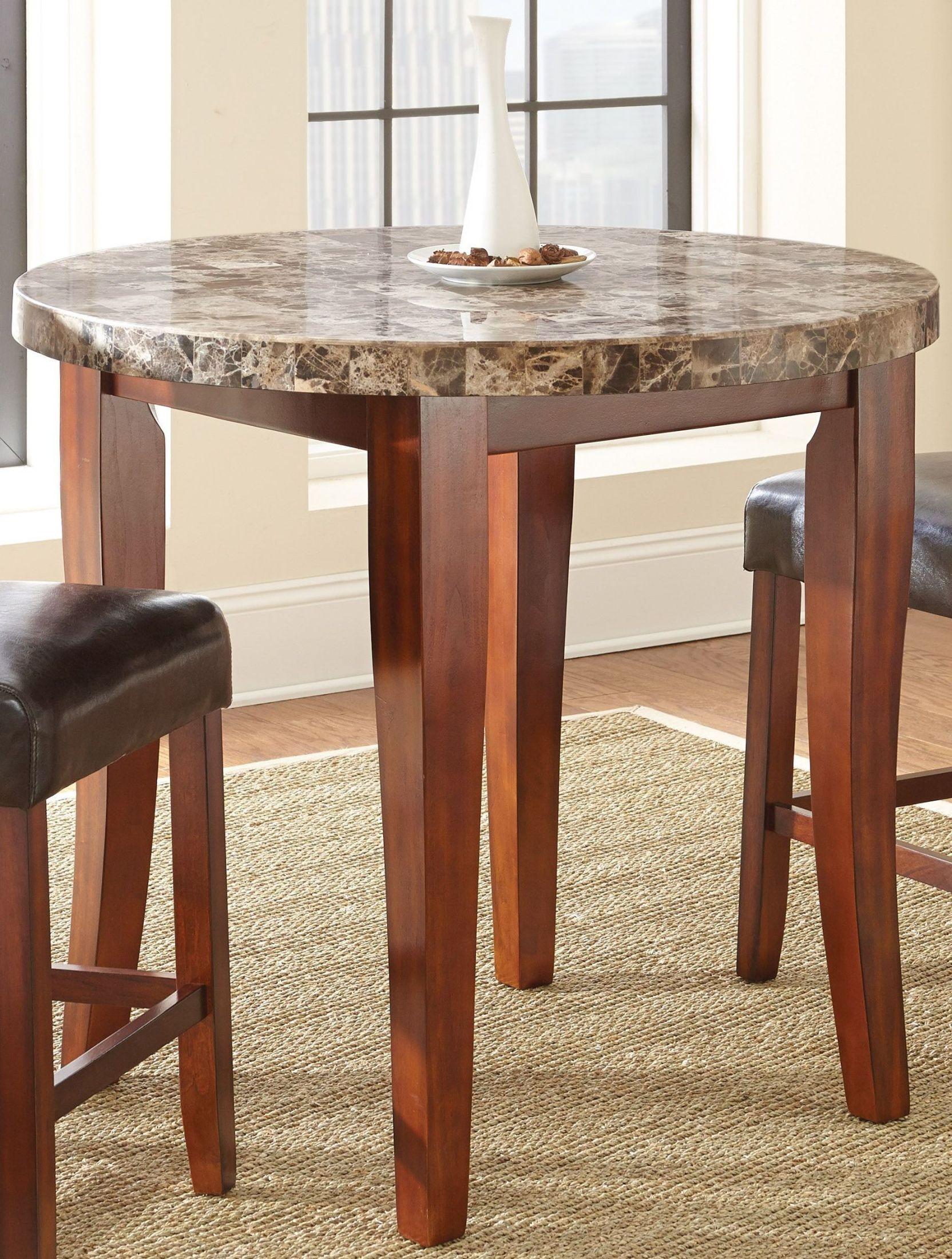 Montibello Medium Cherry Counter Height Dining Room Set