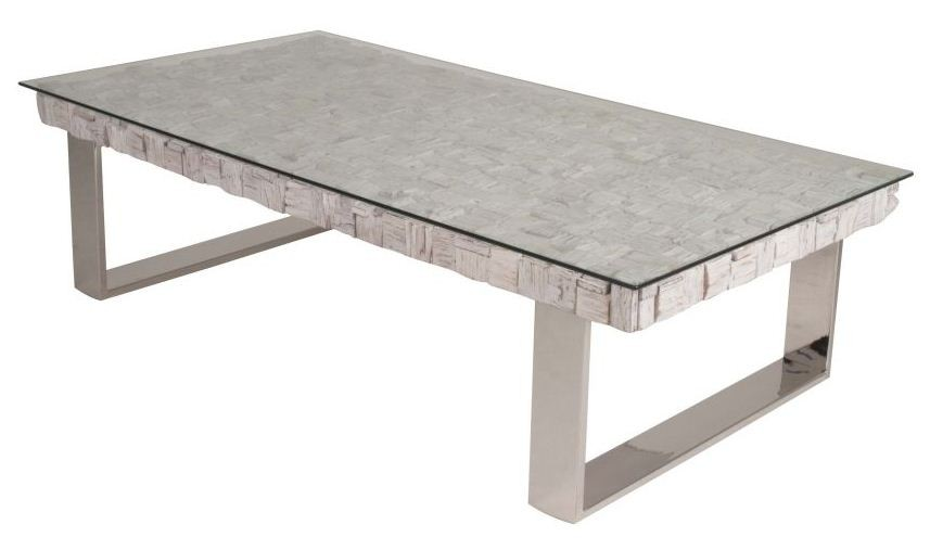 Taj Native White Wash Coffee Table From Star International 7708 Stl Wht Coleman Furniture: whitewash coffee table