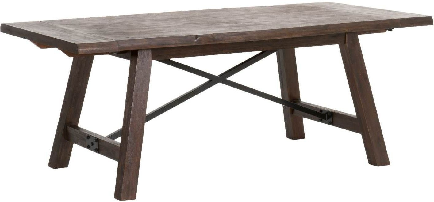 Nixon Rustic Java Extendable Dining Table from Orient  : nixonextensiondiningtable rusticjava 3orientexpress from colemanfurniture.com size 1415 x 660 jpeg 88kB