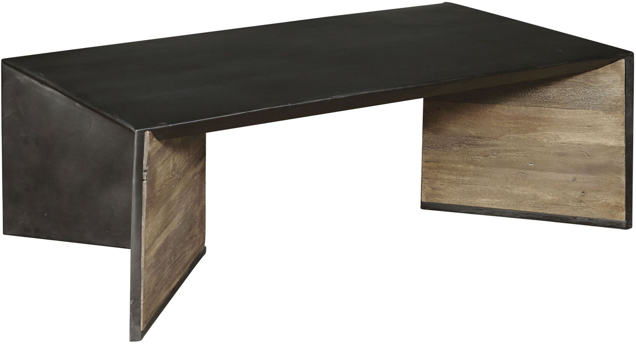 Fenton Black And Brown Cocktail Table From Pulaski Coleman Furniture