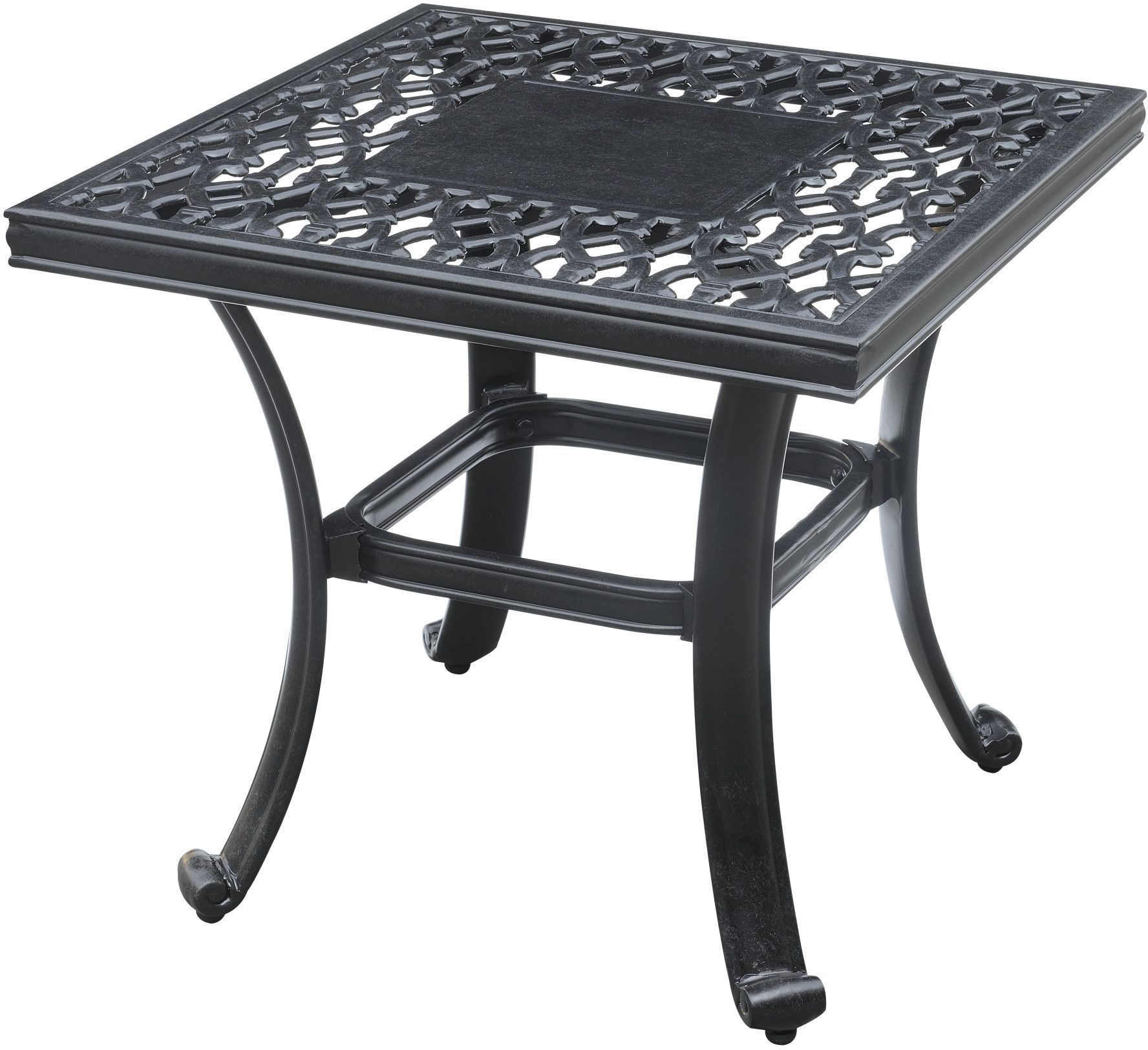 Versailles Square Coffee Table: Versailles Onyx Outdoor Square End Table From Emerald Home