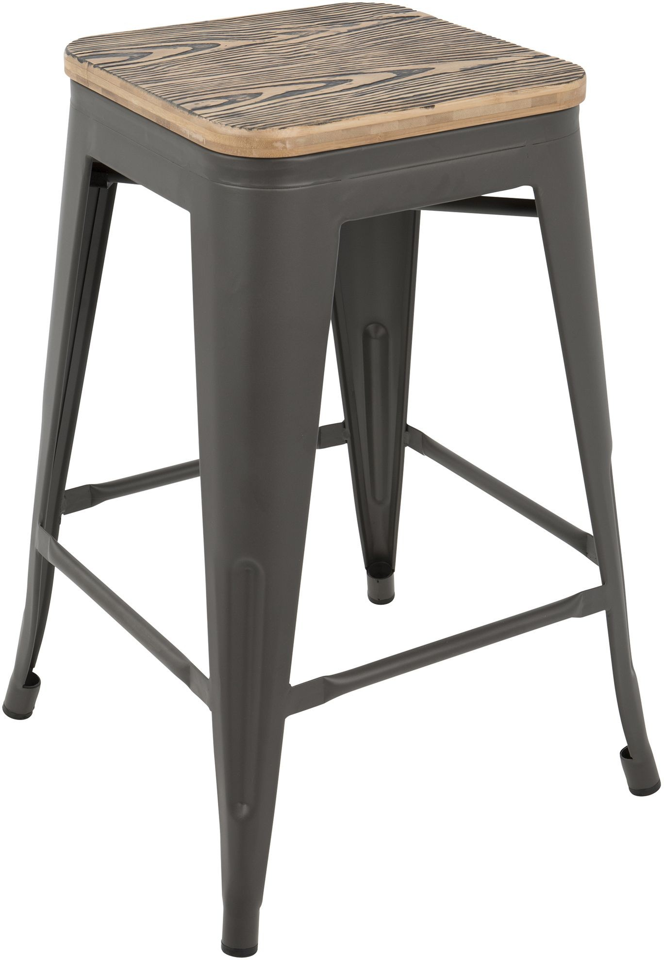 Oregon Gray Counter Stool Set of 2 from Lumisource  : oregoncounterstoolbngy2000main from colemanfurniture.com size 1368 x 1976 jpeg 213kB