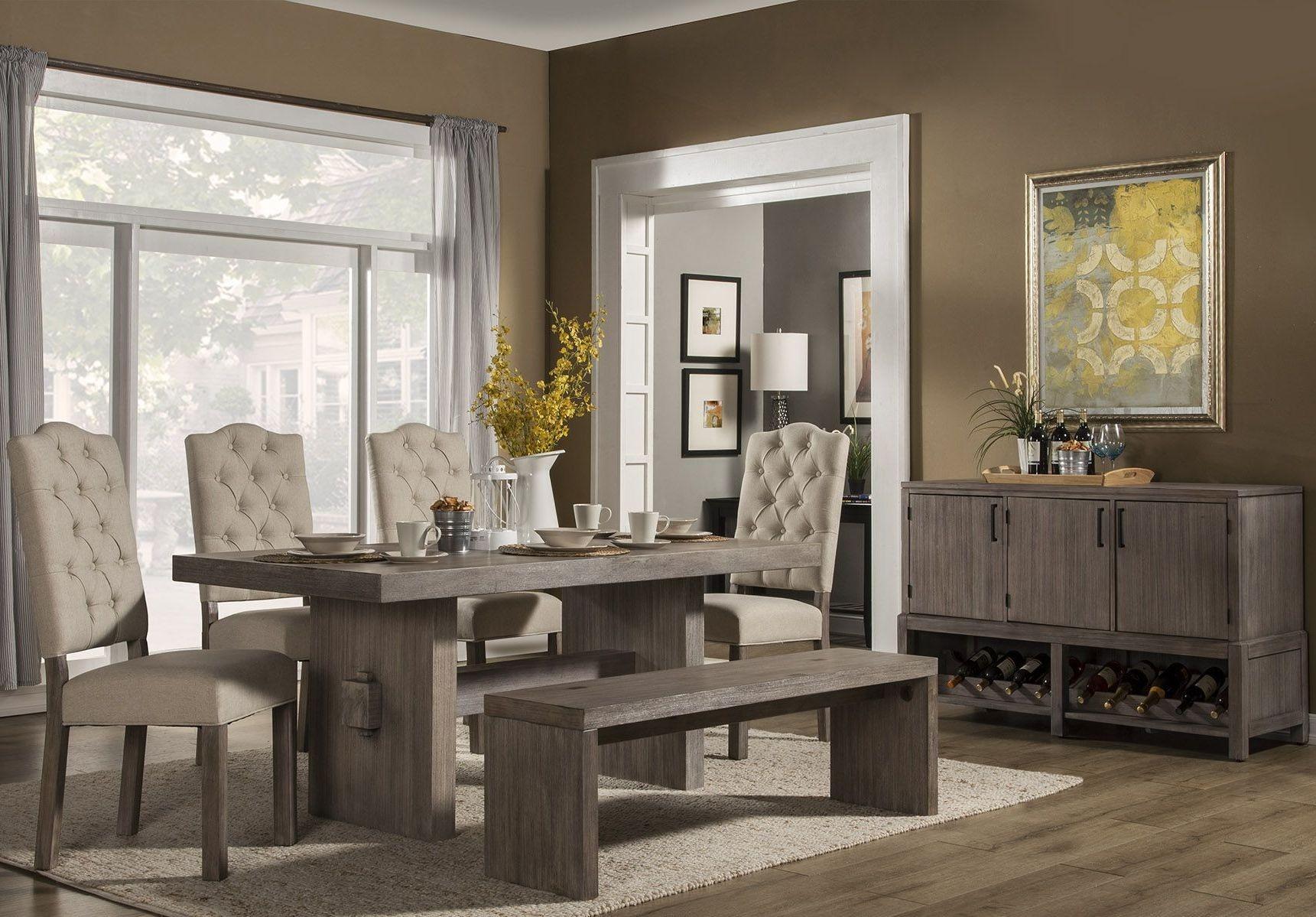 Fiji Grey Dining Room Set From Alpine Coleman Furniture
