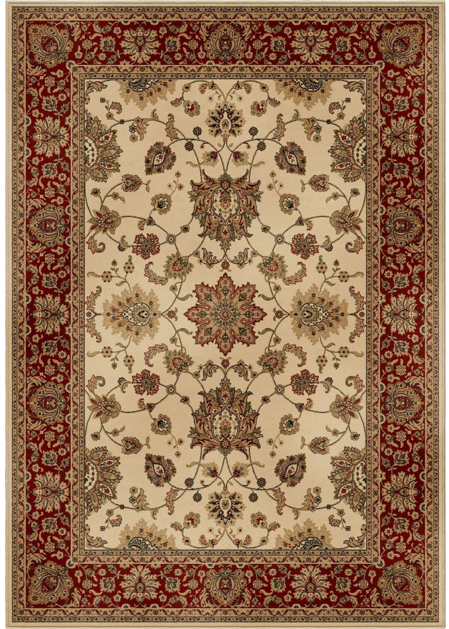 Orian Rugs Detailed Design Traditional Borokan Ivory Area