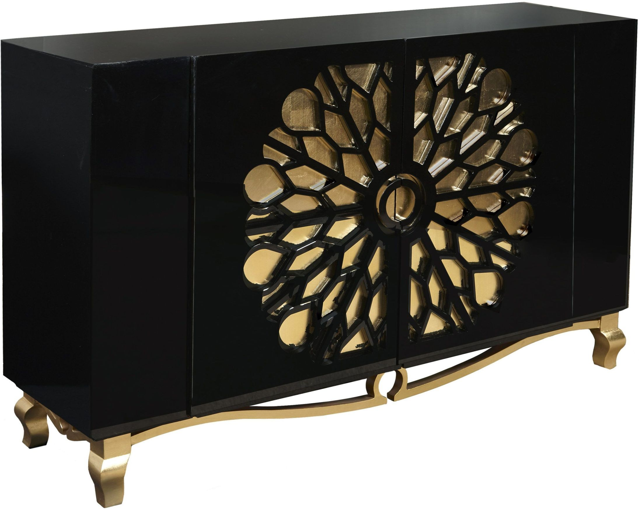 fretwork furniture. Lydia Gold Leaf Fretwork Door Console Furniture