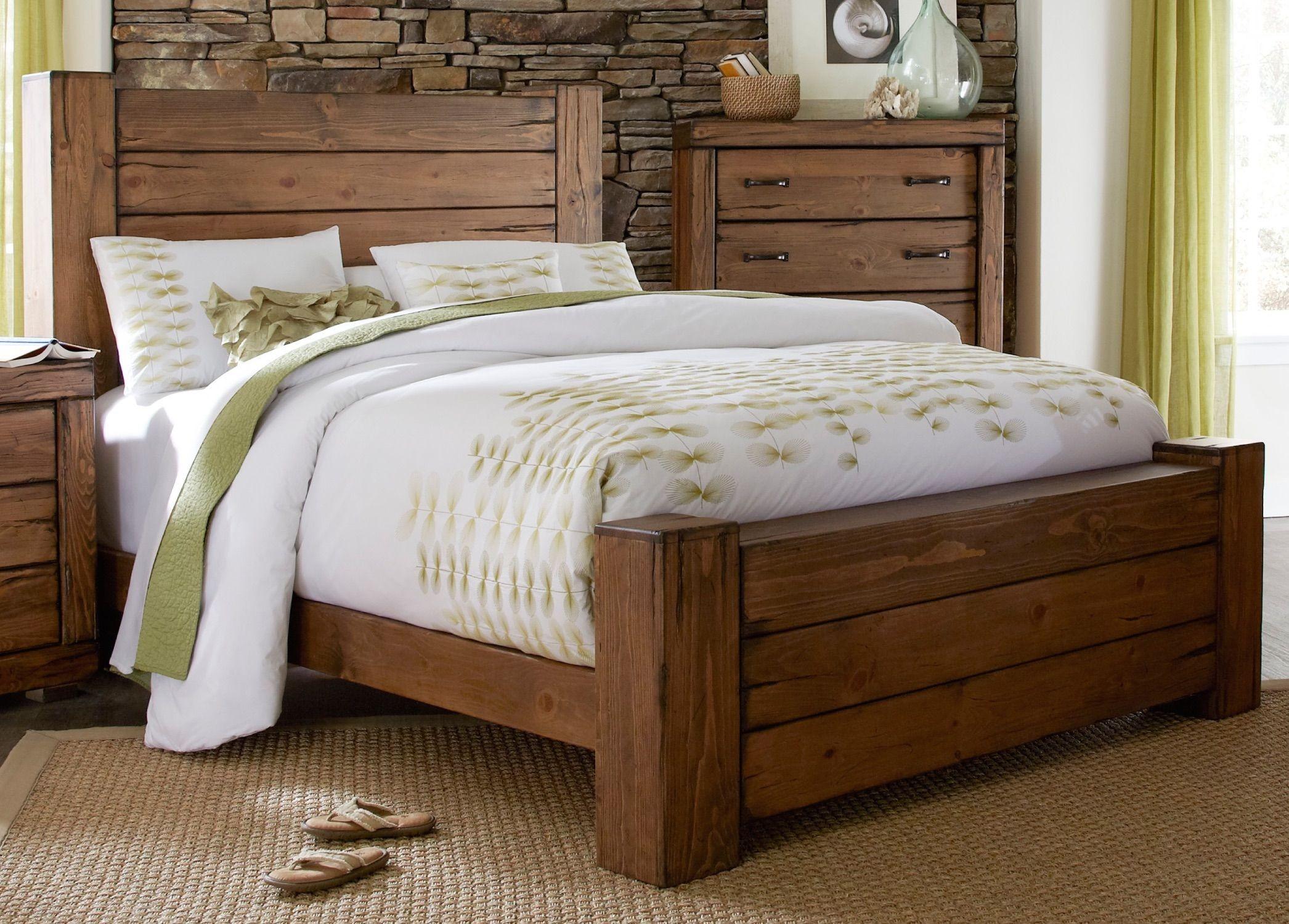 Maverick Driftwood Panel Bedroom Set from Progressive Furniture ...