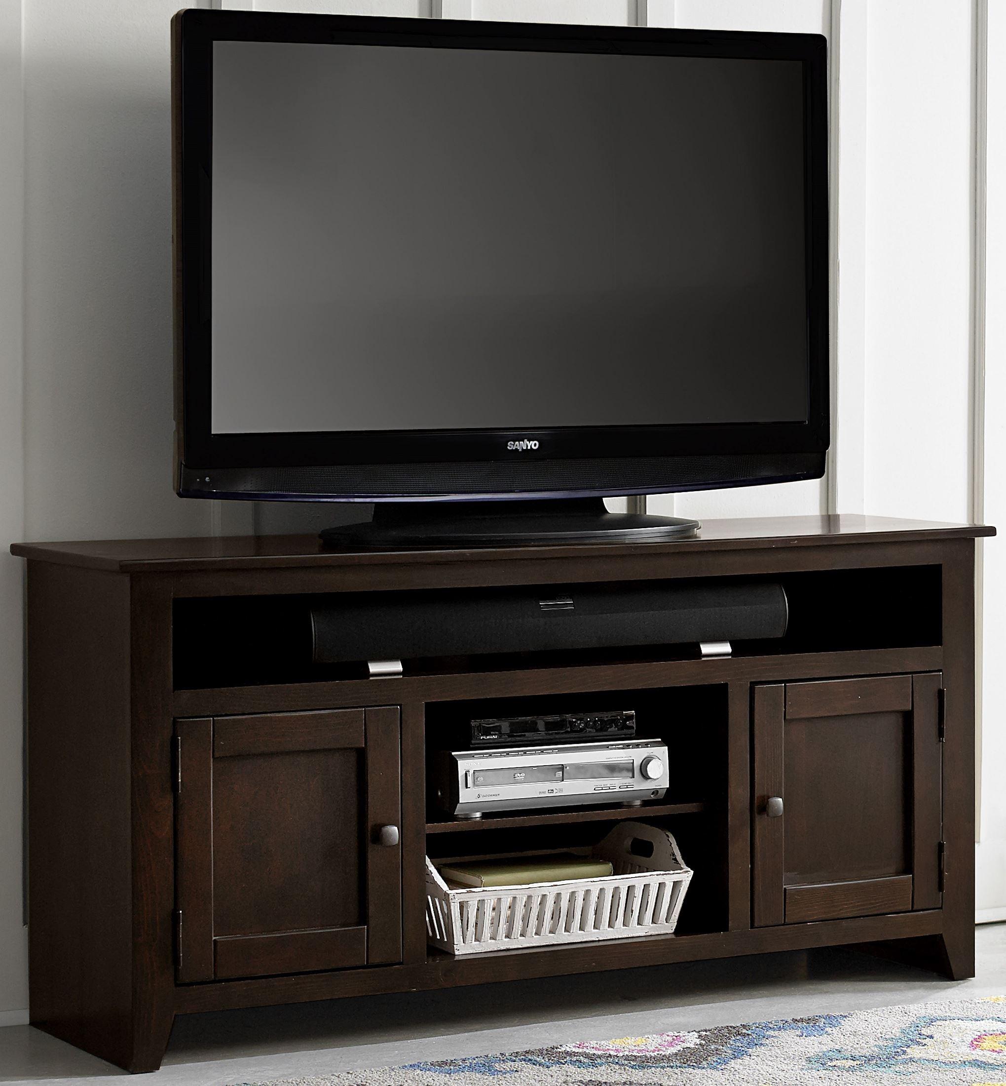 Rio Bravo 58 Dark Pine Entertainment Console From Progressive Furniture Coleman Furniture