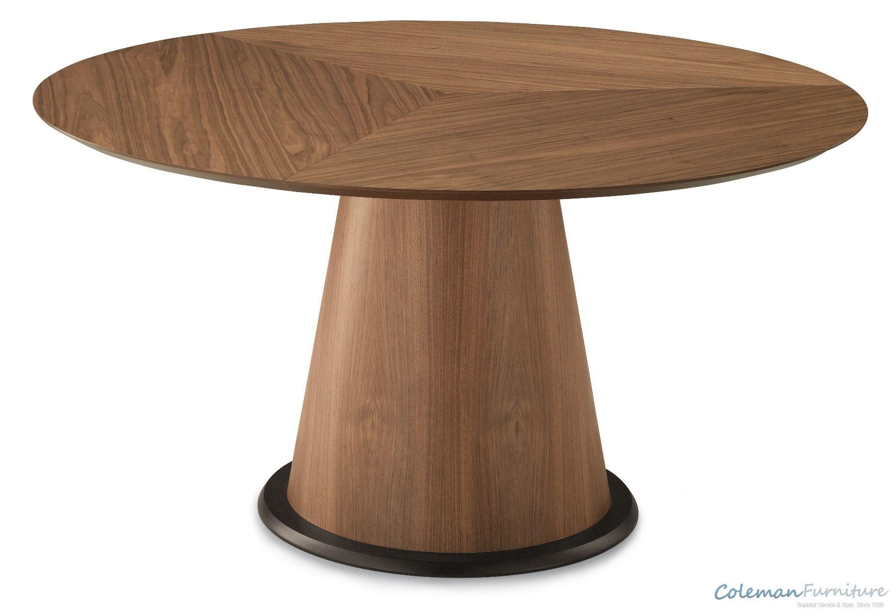 Palio Walnut 60 Inch Round Table From Domitalia Palio T